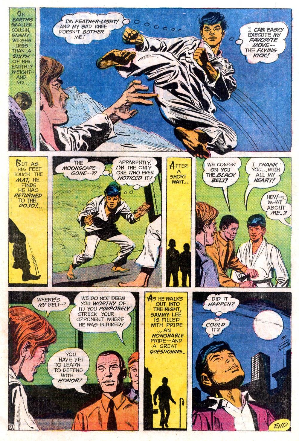 Read online Strange Sports Stories (1973) comic -  Issue #2 - 10