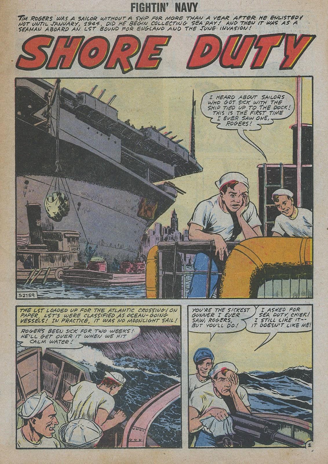 Read online Fightin' Navy comic -  Issue #82 - 11