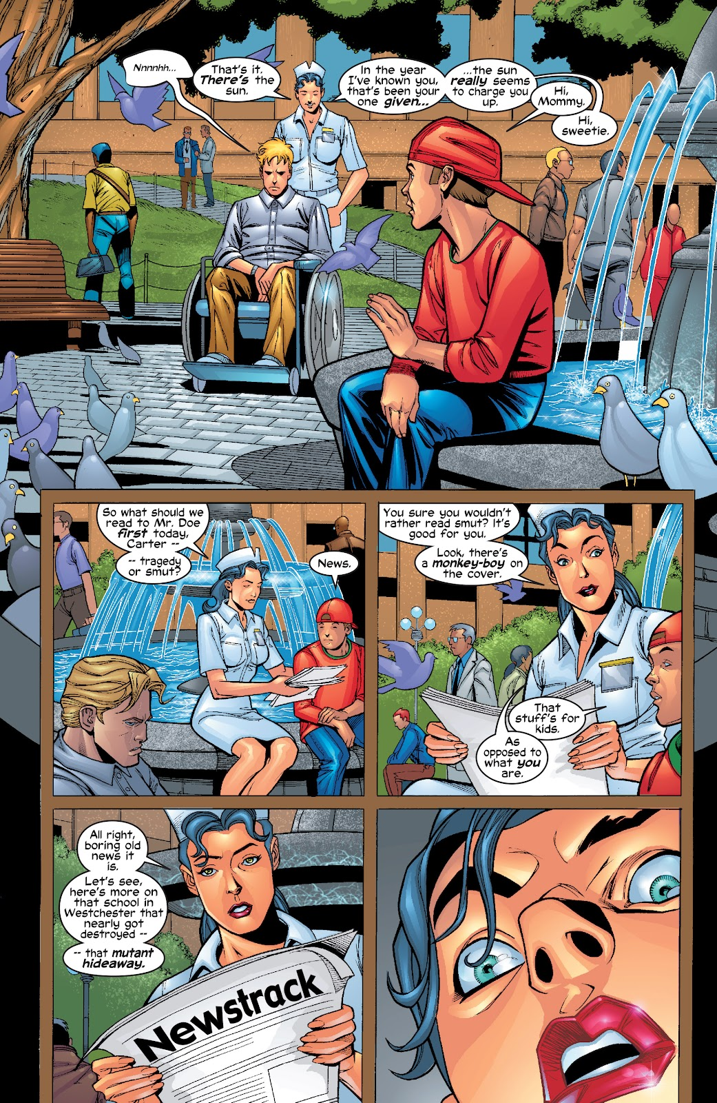 Read online X-Men: Unstoppable comic -  Issue # TPB (Part 1) - 40
