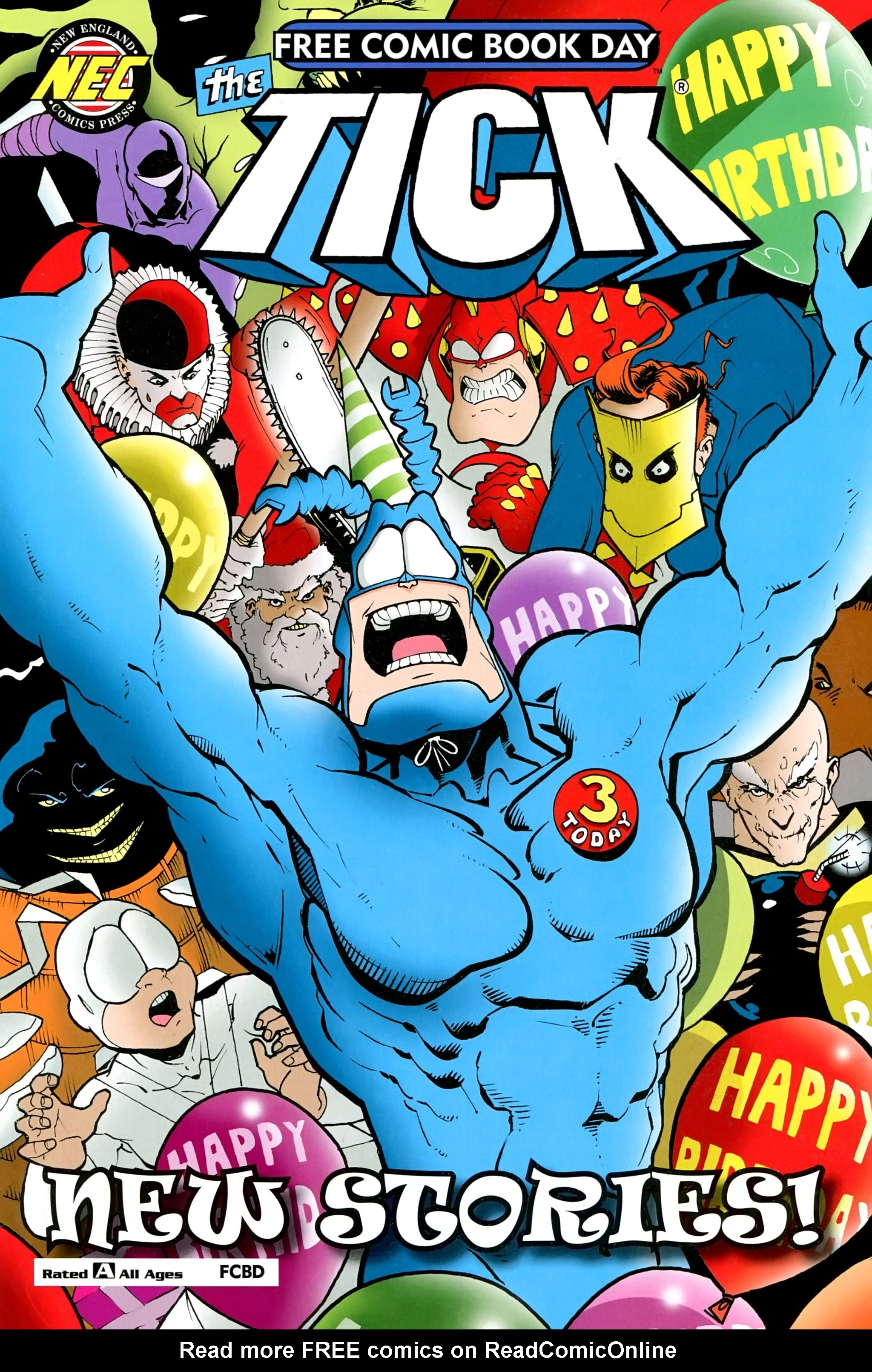 Read online Free Comic Book Day 2017 comic -  Issue # The Tick - 1