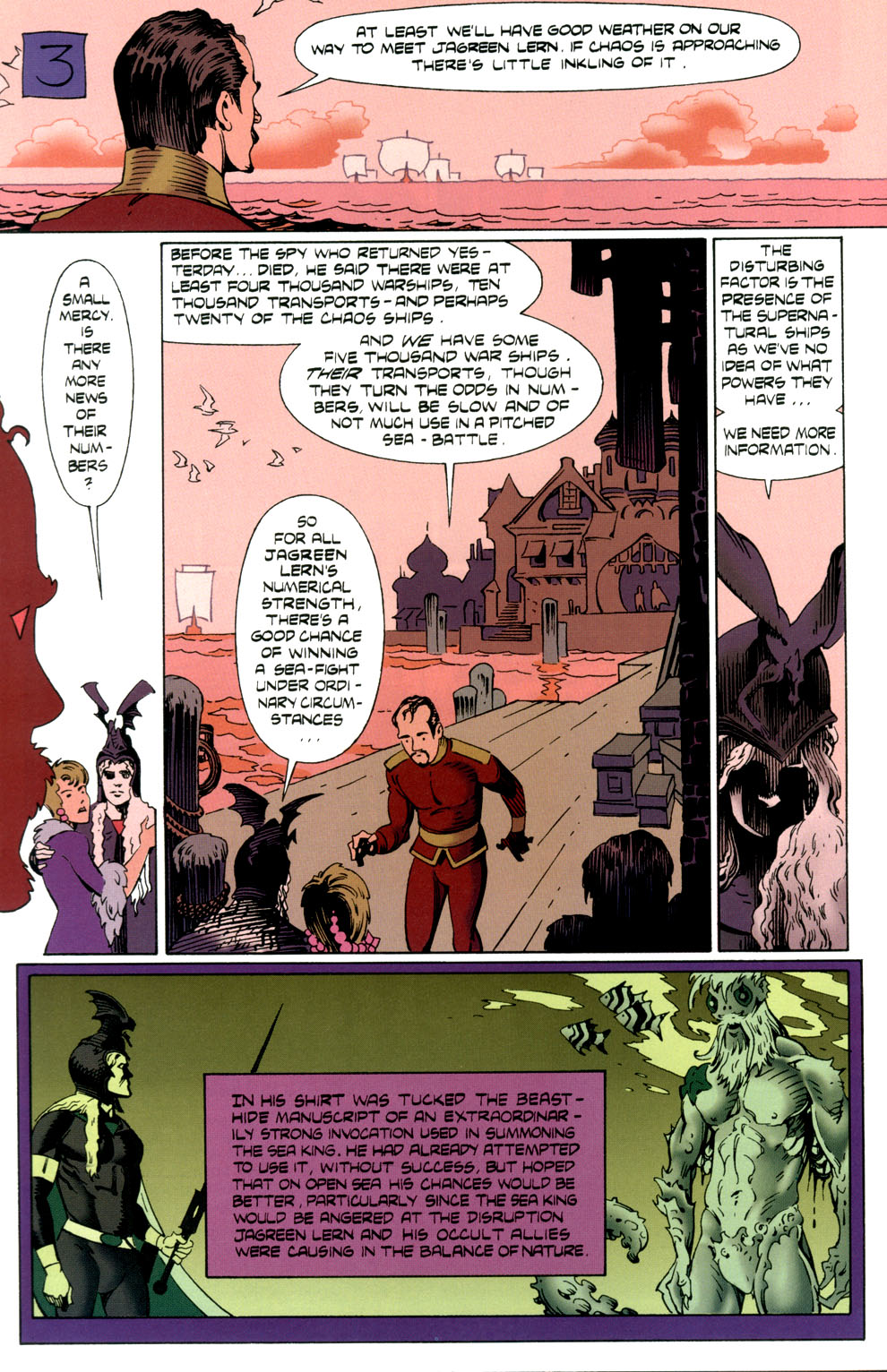 Read online Elric: Stormbringer comic -  Issue #4 - 20