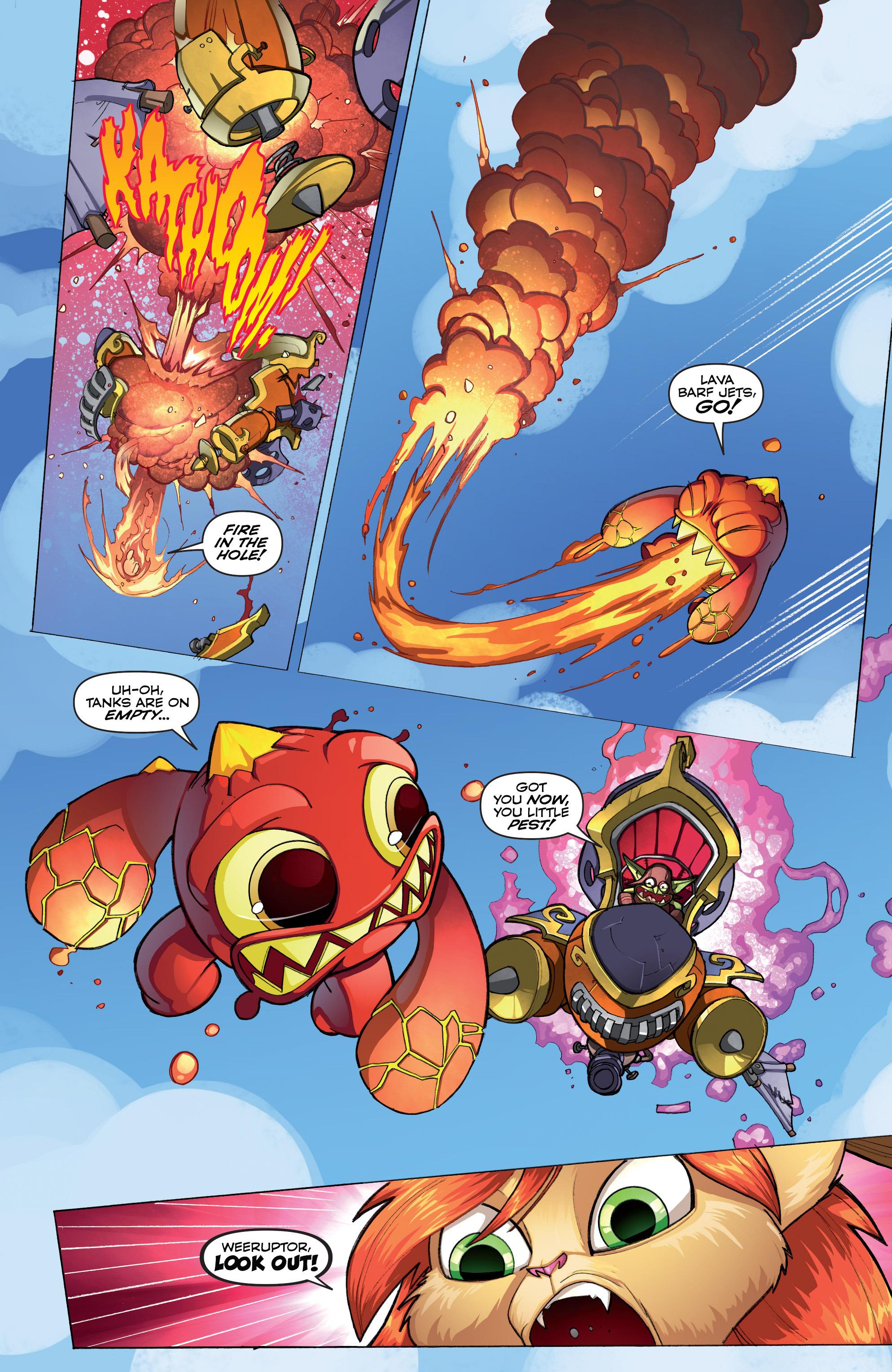 Read online Skylanders comic -  Issue #2 - 15