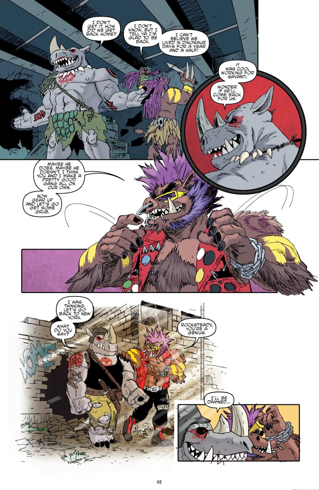 Read online Teenage Mutant Ninja Turtles: The IDW Collection comic -  Issue # TPB 8 (Part 2) - 11