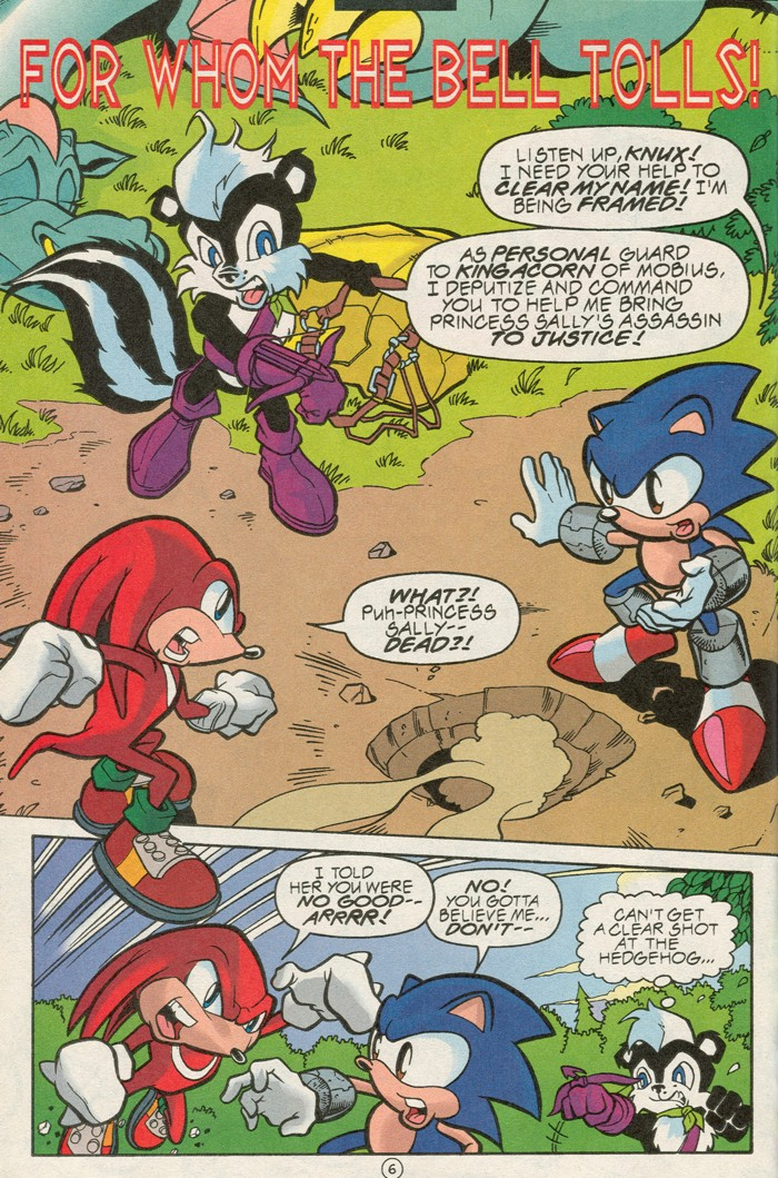 Read online Sonic Super Special comic -  Issue #6 - The big 50 - 8