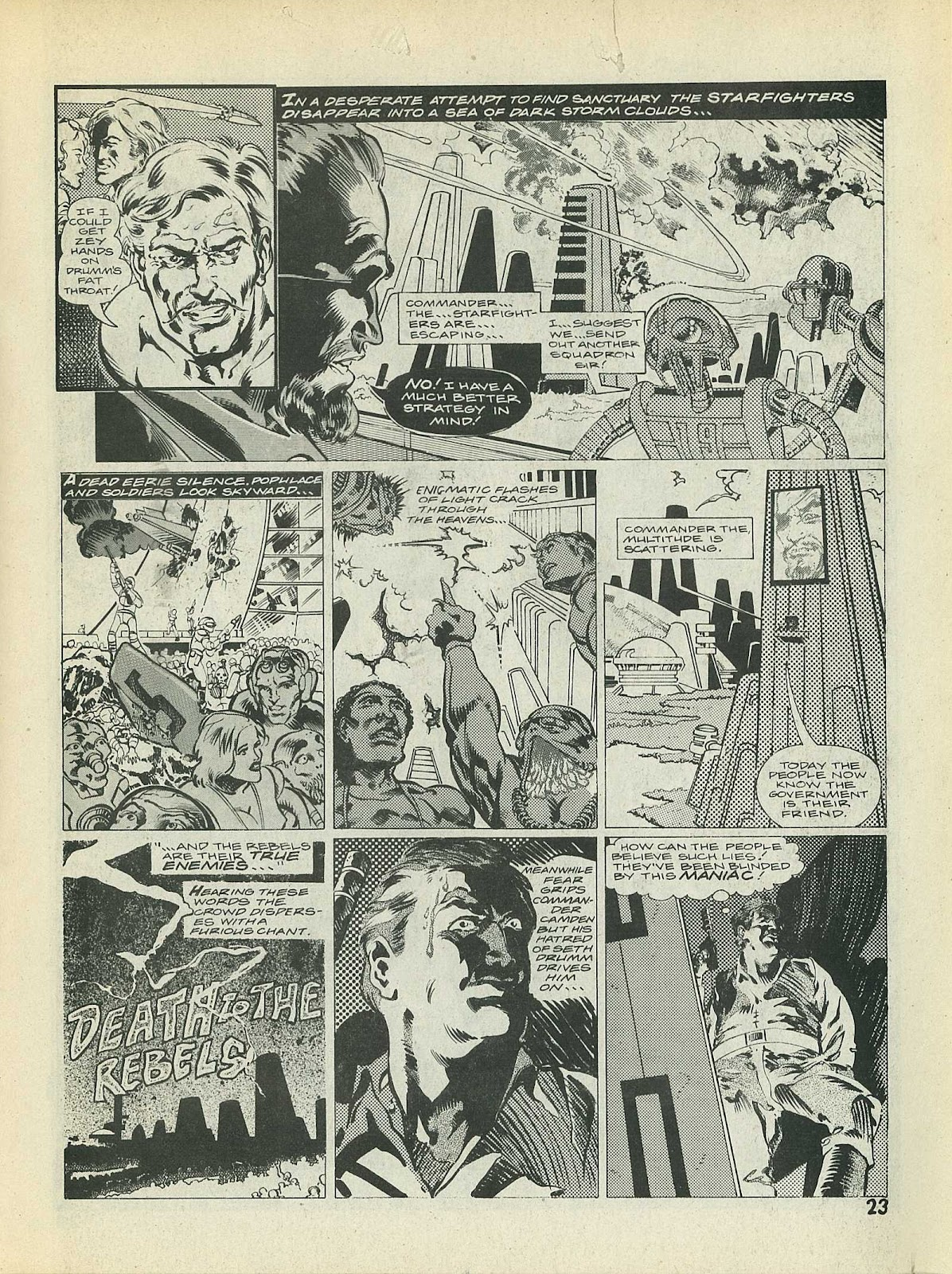 Star Fighters issue 3 - Page 25