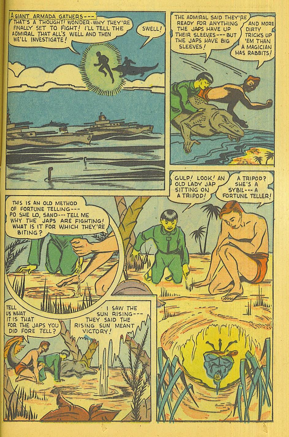 Read online Super-Magician Comics comic -  Issue #39 - 34