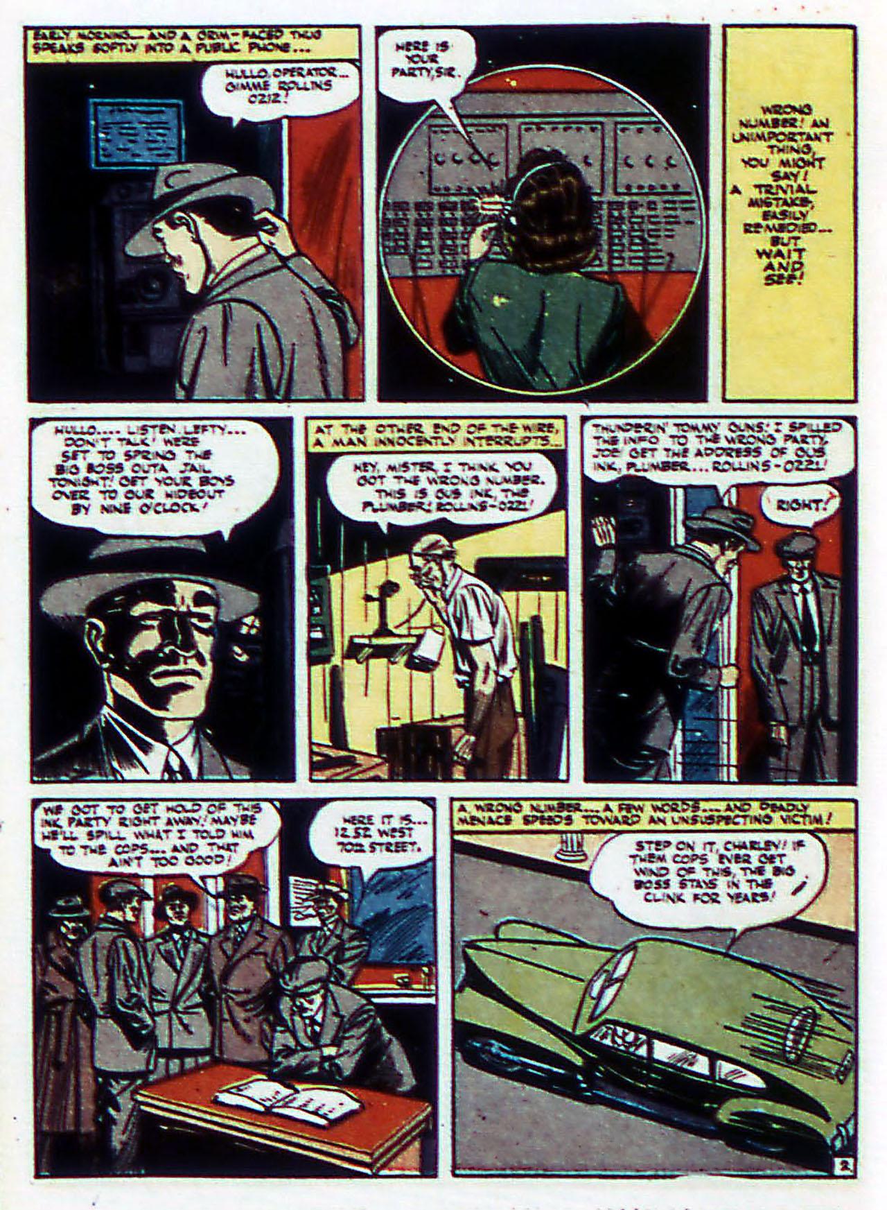 Read online Detective Comics (1937) comic -  Issue #72 - 33