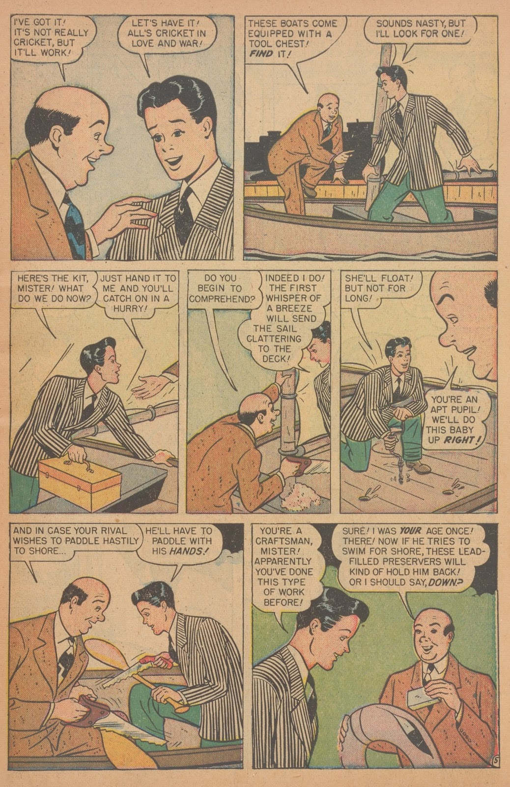 Read online Nellie The Nurse (1945) comic -  Issue #18 - 7
