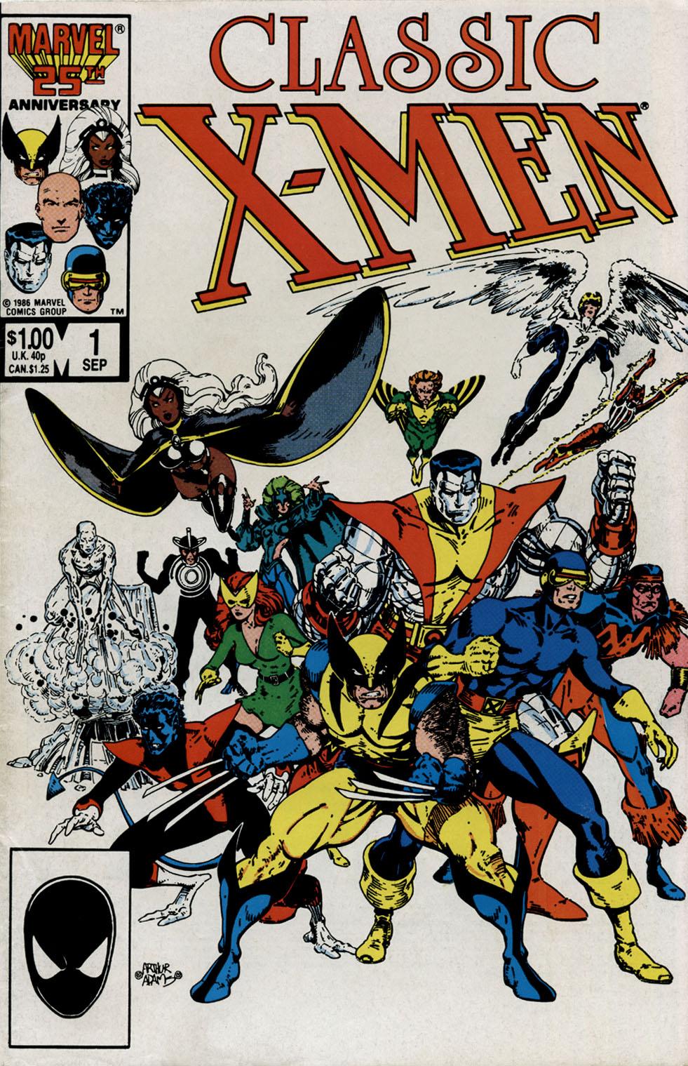 Classic X-Men 1 Page 1