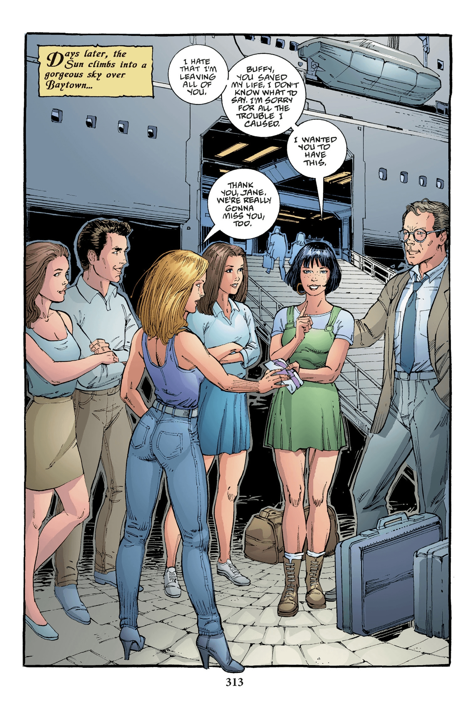 Read online Buffy the Vampire Slayer: Omnibus comic -  Issue # TPB 2 - 305