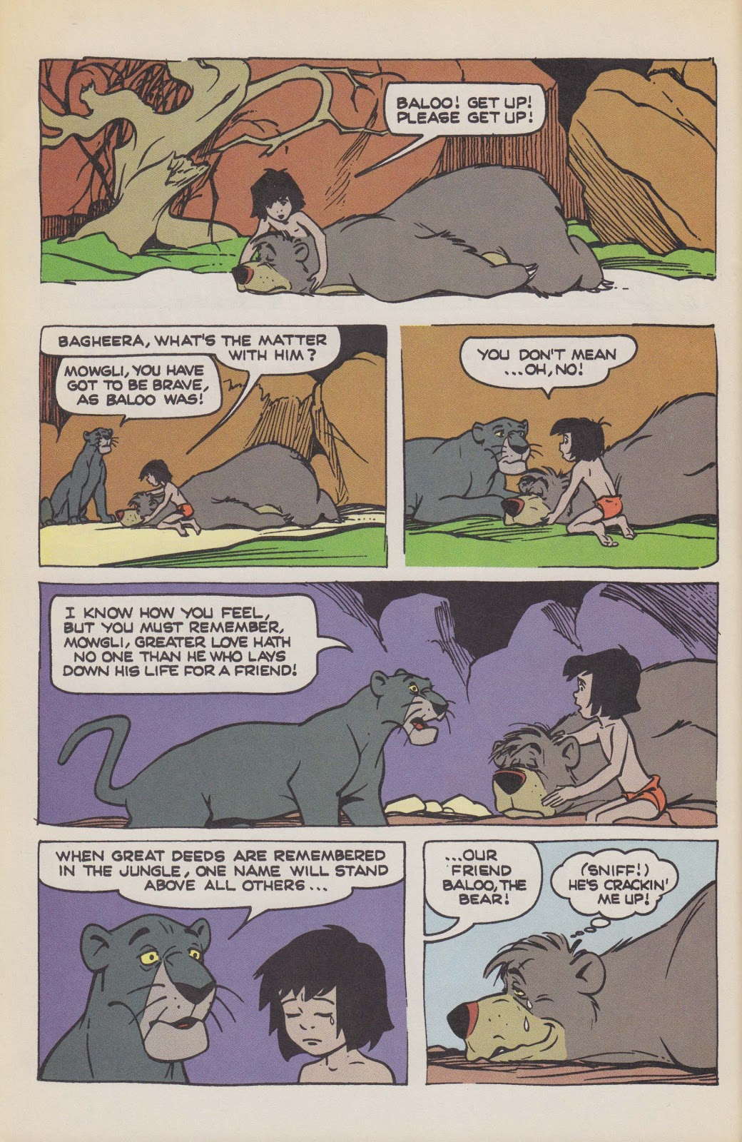 Read online The Jungle Book comic -  Issue # Full - 60