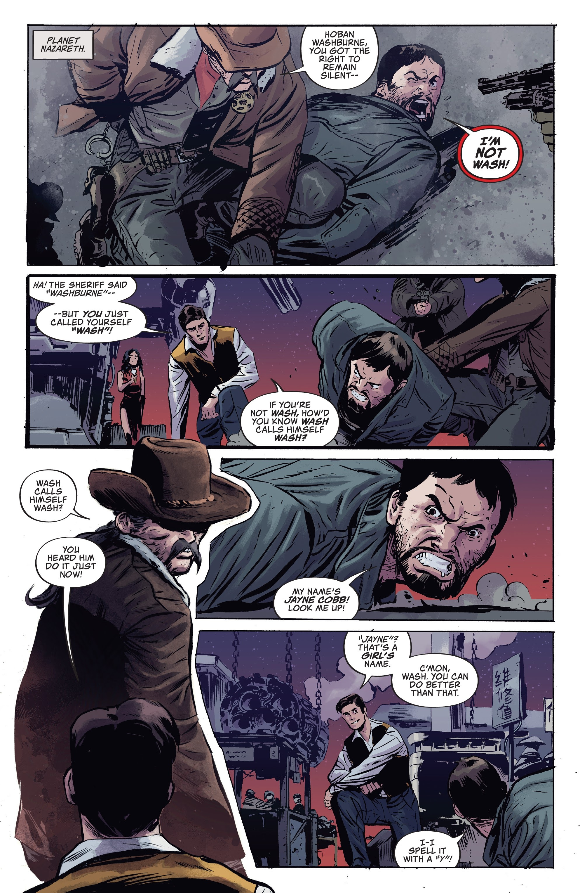 Read online Firefly comic -  Issue #7 - 3