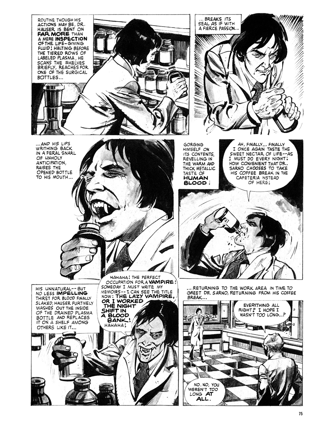 Read online Eerie Archives comic -  Issue # TPB 8 - 76