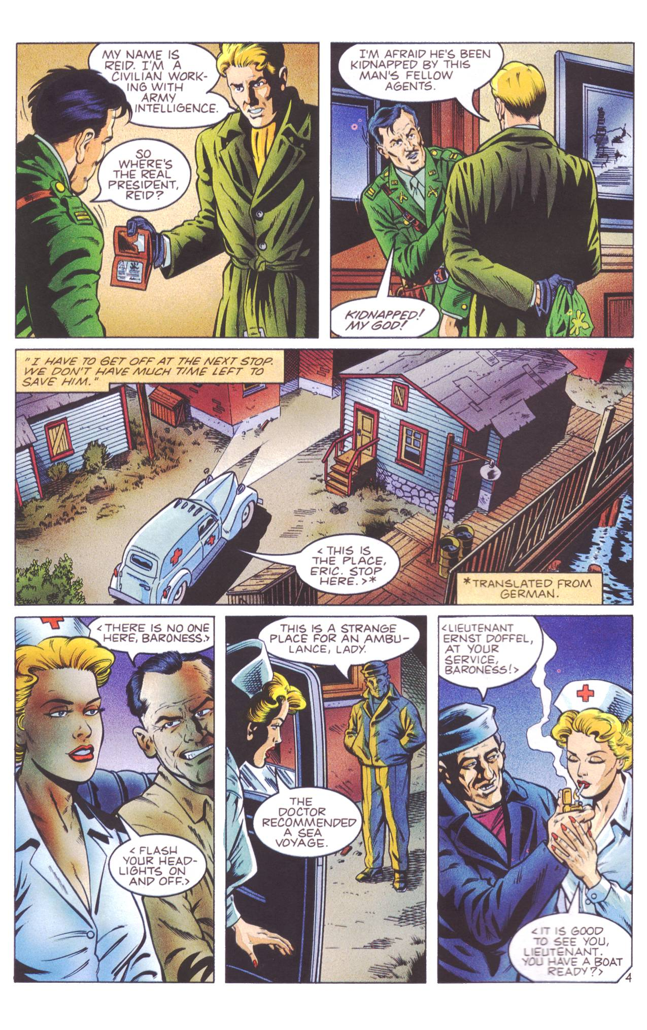Read online Sting of The Green Hornet comic -  Issue #4 - 5