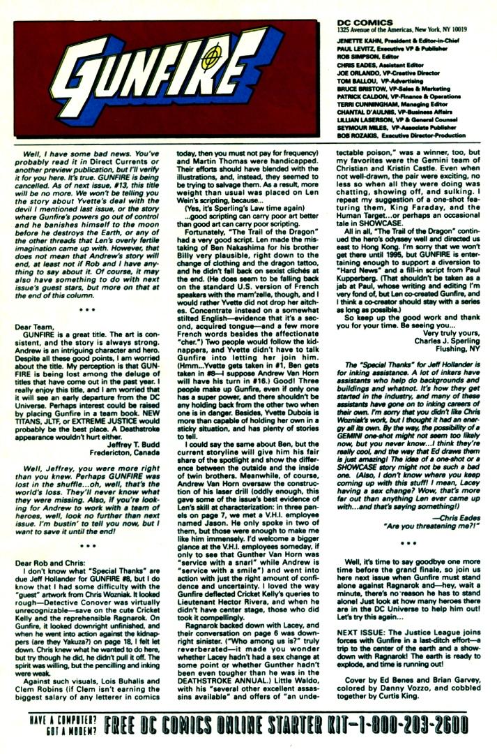 Read online Gunfire comic -  Issue #12 - 31
