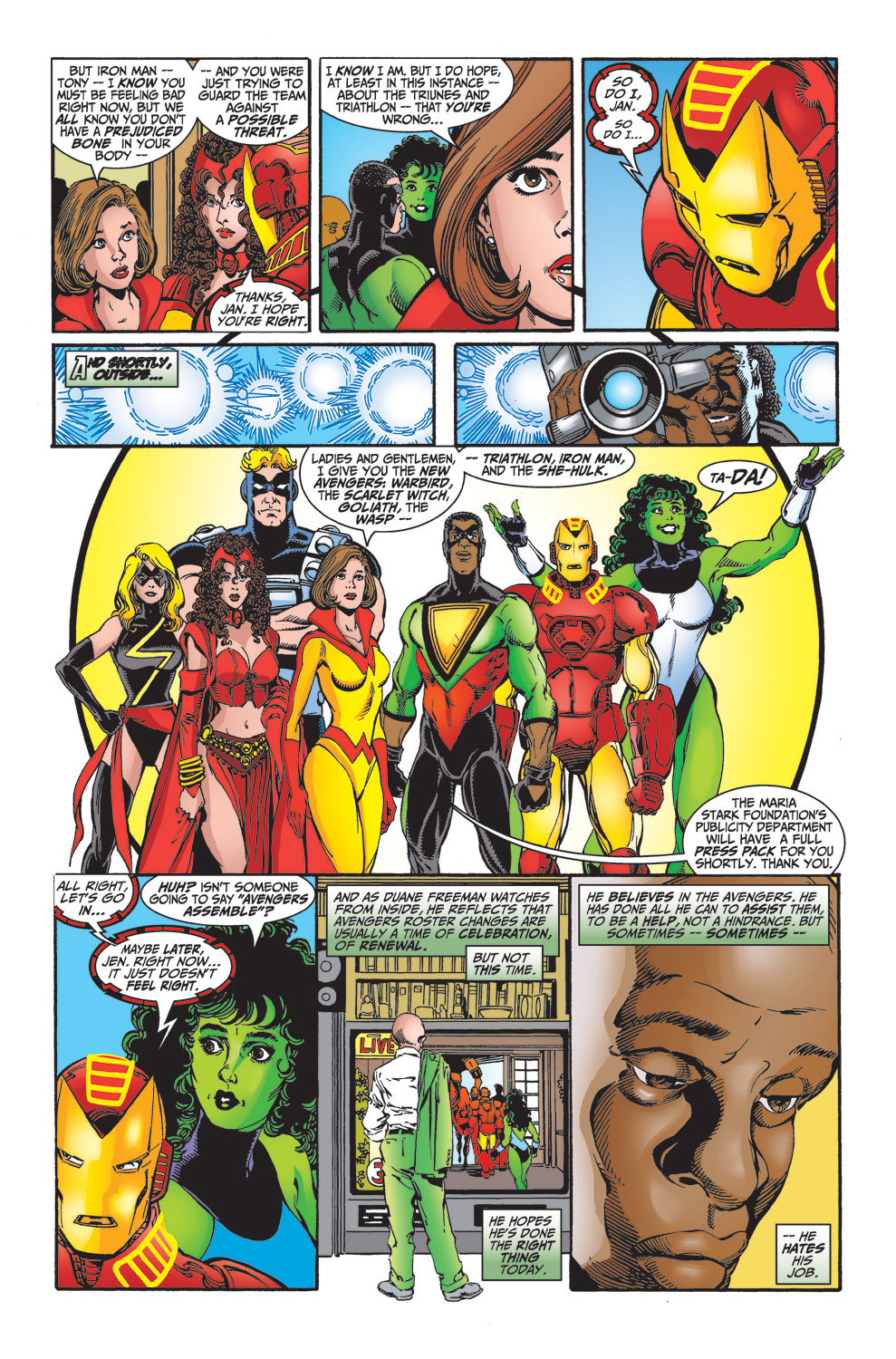 Read online Avengers (1998) comic -  Issue #27 - 22