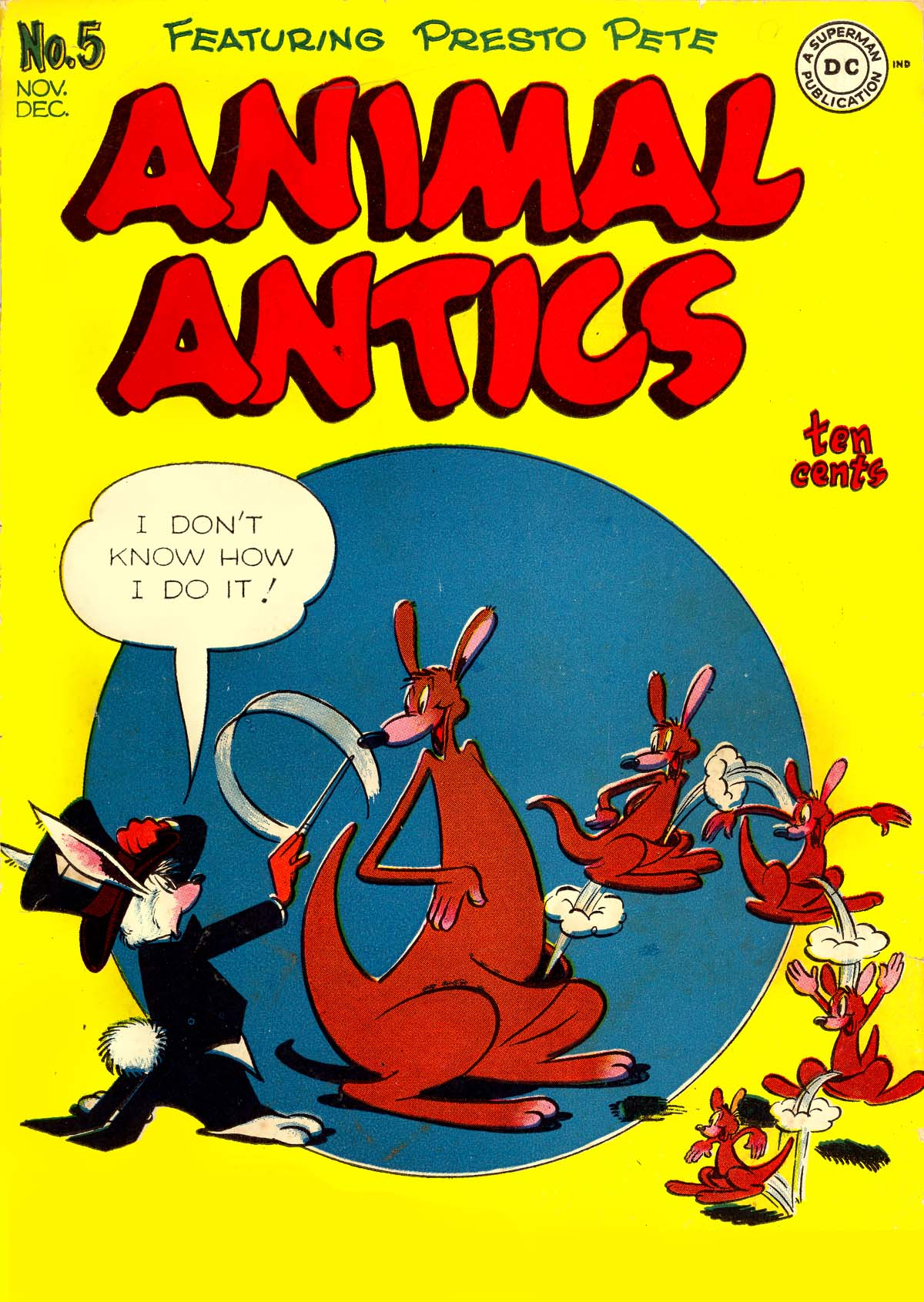Animal Antics 5 Page 1