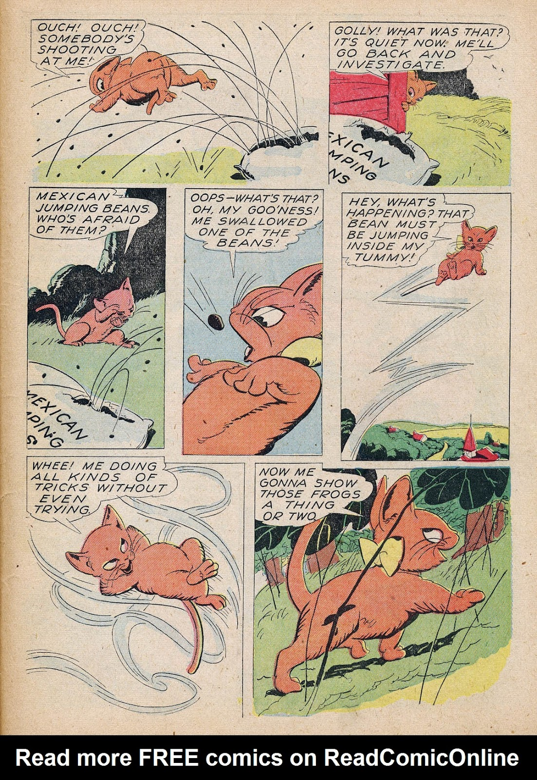 Read online Animal Comics comic -  Issue #7 - 55