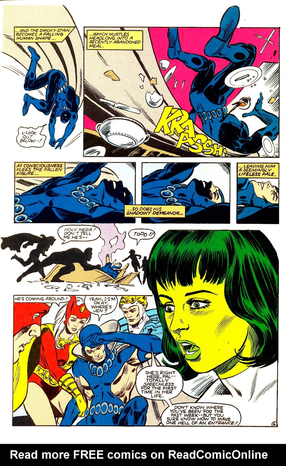 Infinity Inc. (1984) issue Annual 1 - Page 8