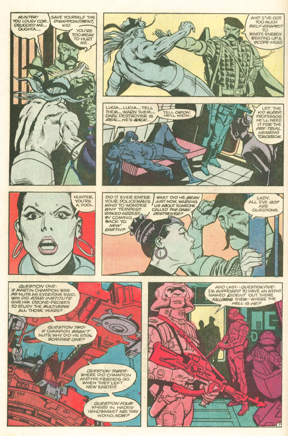 Read online Atari Force (1984) comic -  Issue #11 - 9