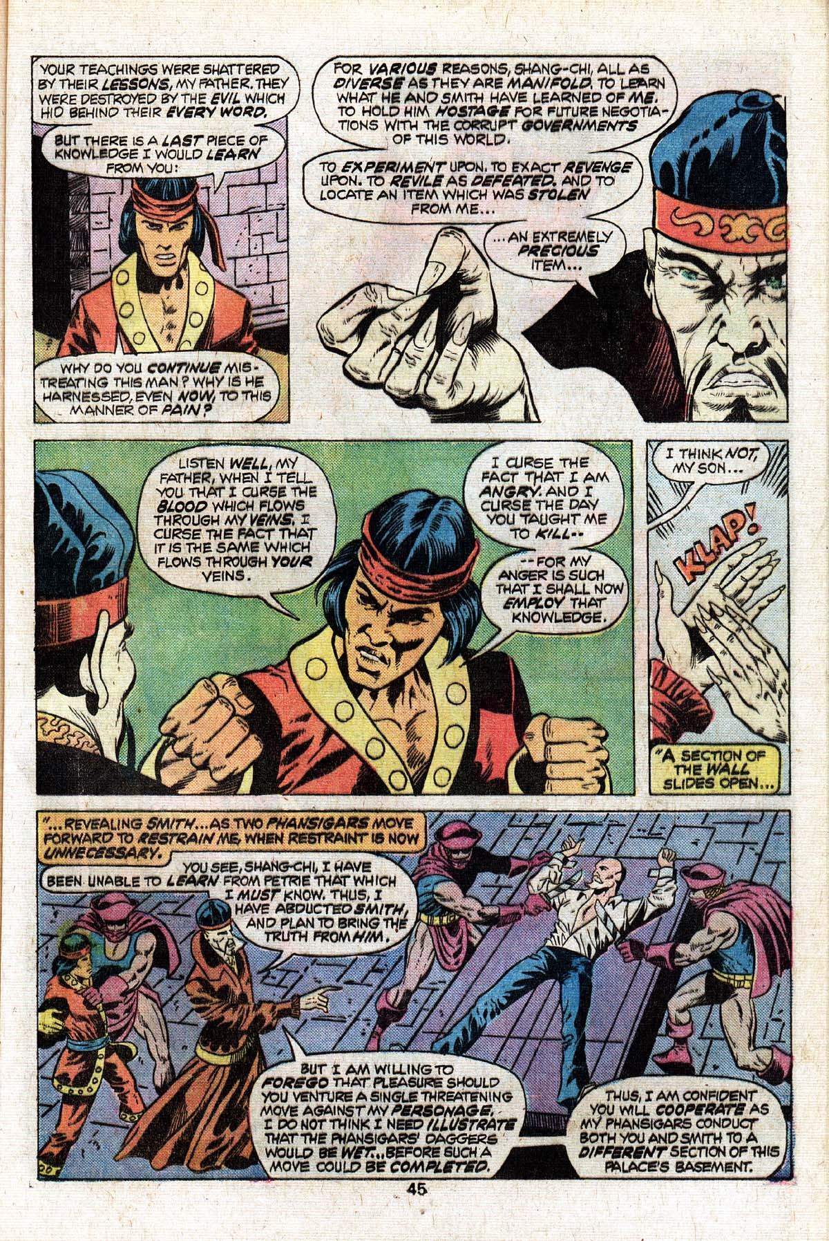 Read online Giant-Size Master of Kung Fu comic -  Issue #3 - 37