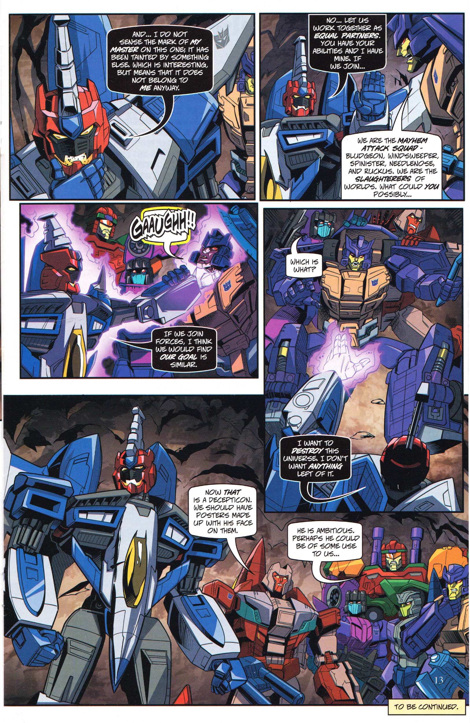 Read online Transformers: Collectors' Club comic -  Issue #69 - 13