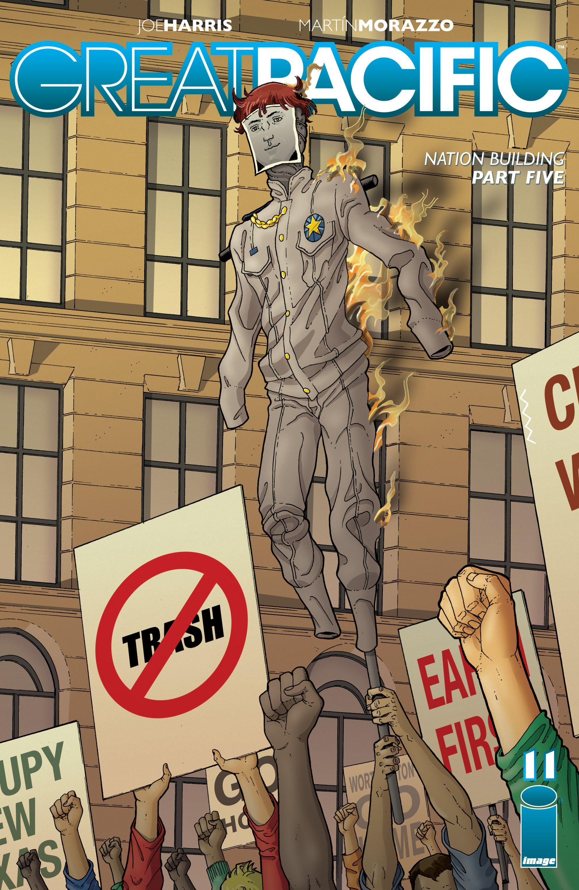 Read online Great Pacific comic -  Issue #11 - 1