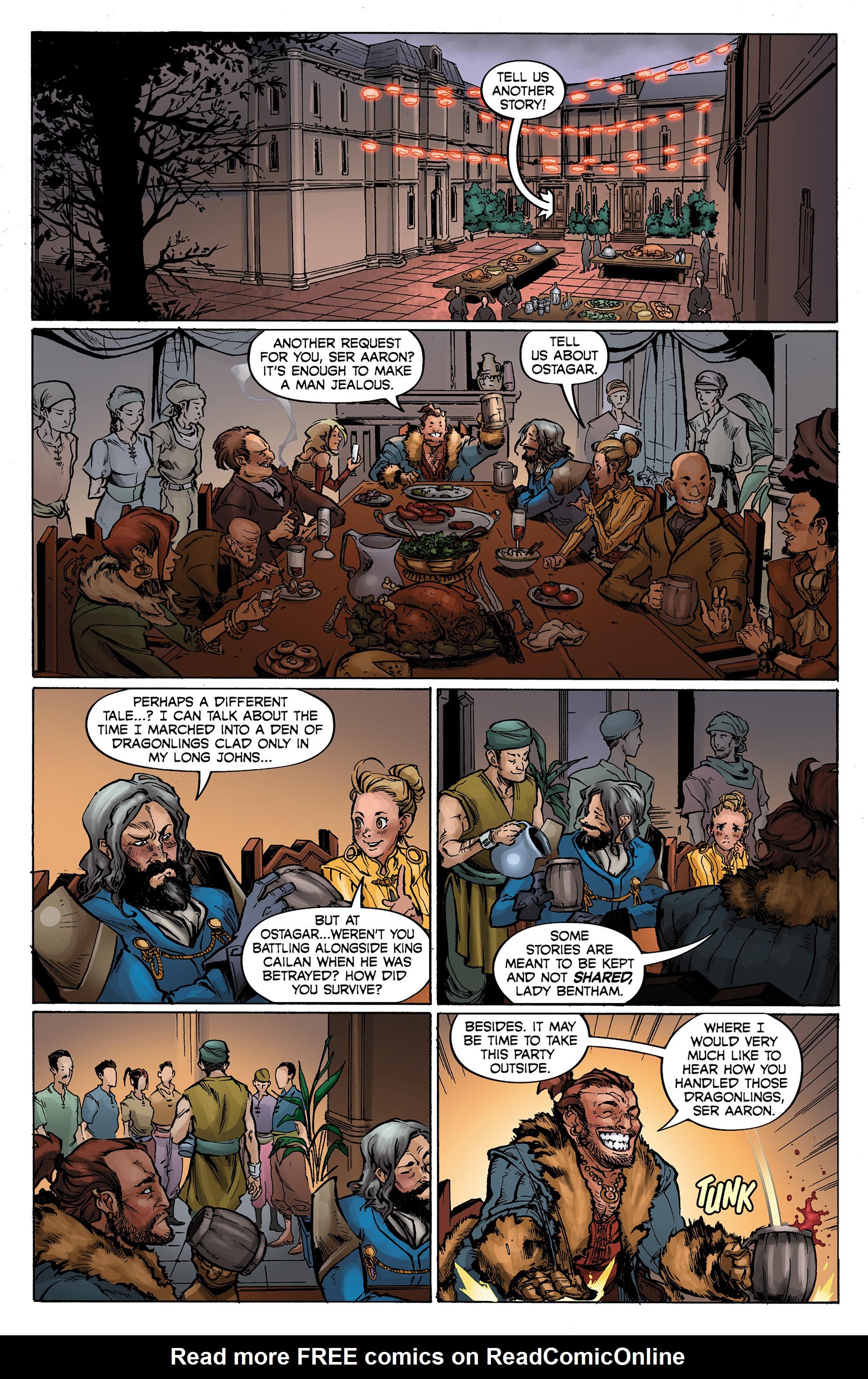 Read online Dragon Age: Knight Errant comic -  Issue #1 - 15