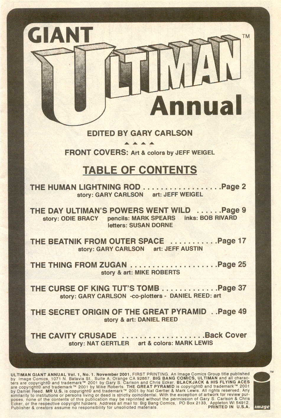 Read online Ultiman Giant  Annual comic -  Issue # Full - 3