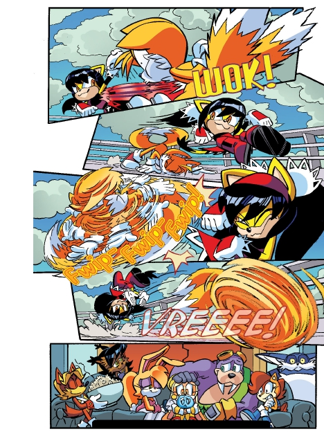 Read online Sonic Comics Spectacular: Speed of Sound comic -  Issue # Full - 27