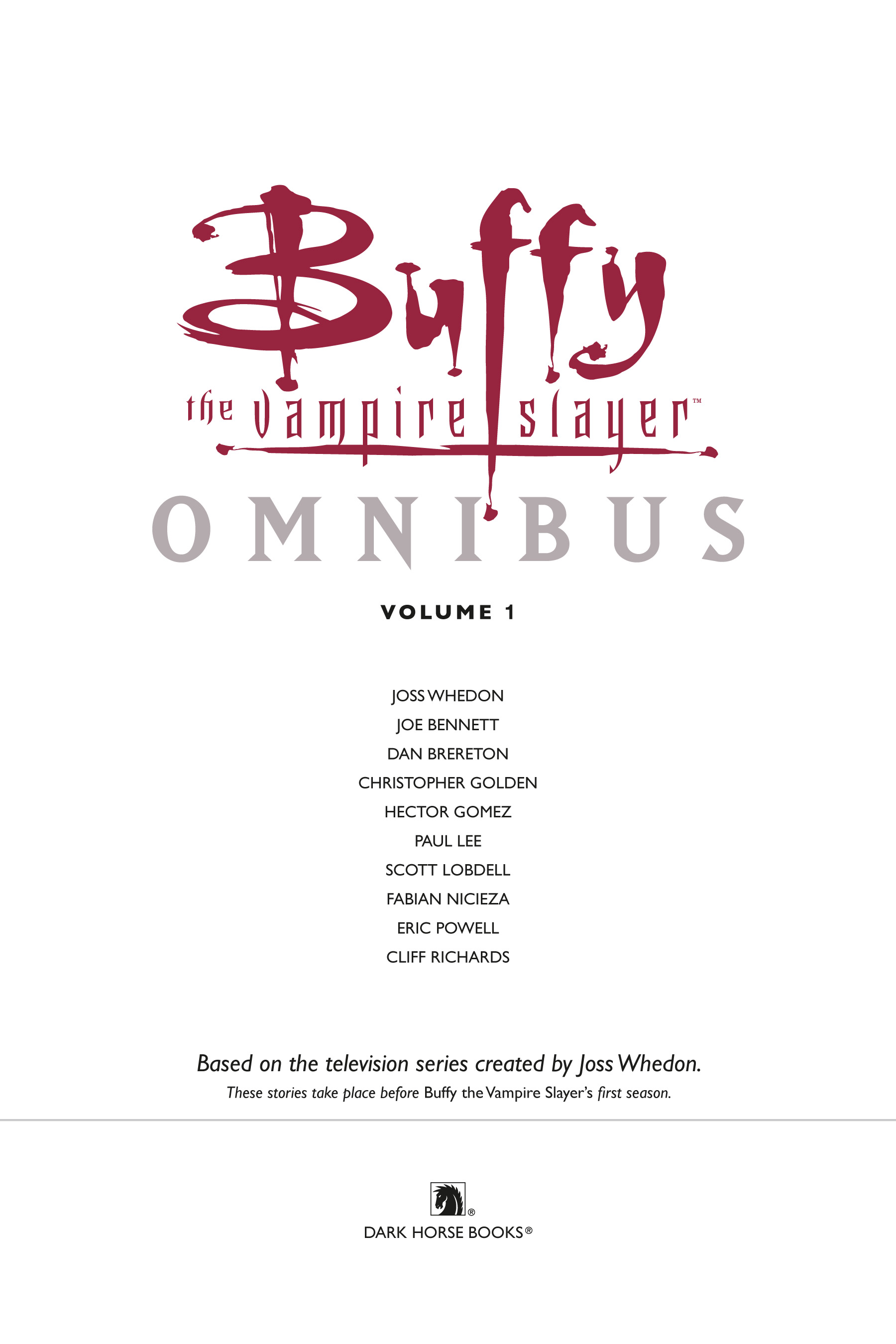 Read online Buffy the Vampire Slayer: Omnibus comic -  Issue # TPB 1 - 5