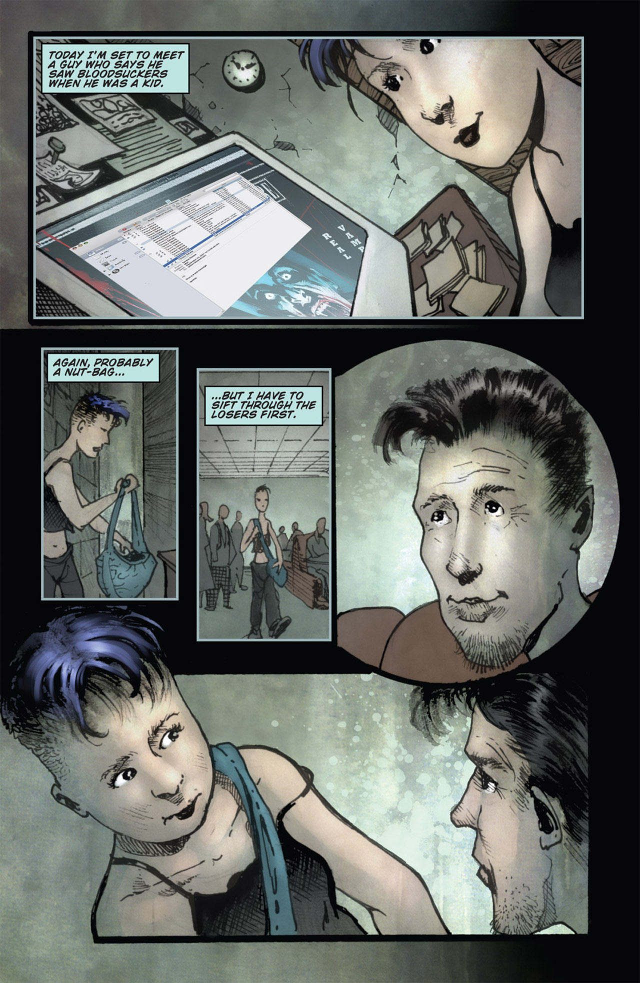 Read online 30 Days of Night (2011) comic -  Issue #1 - 20