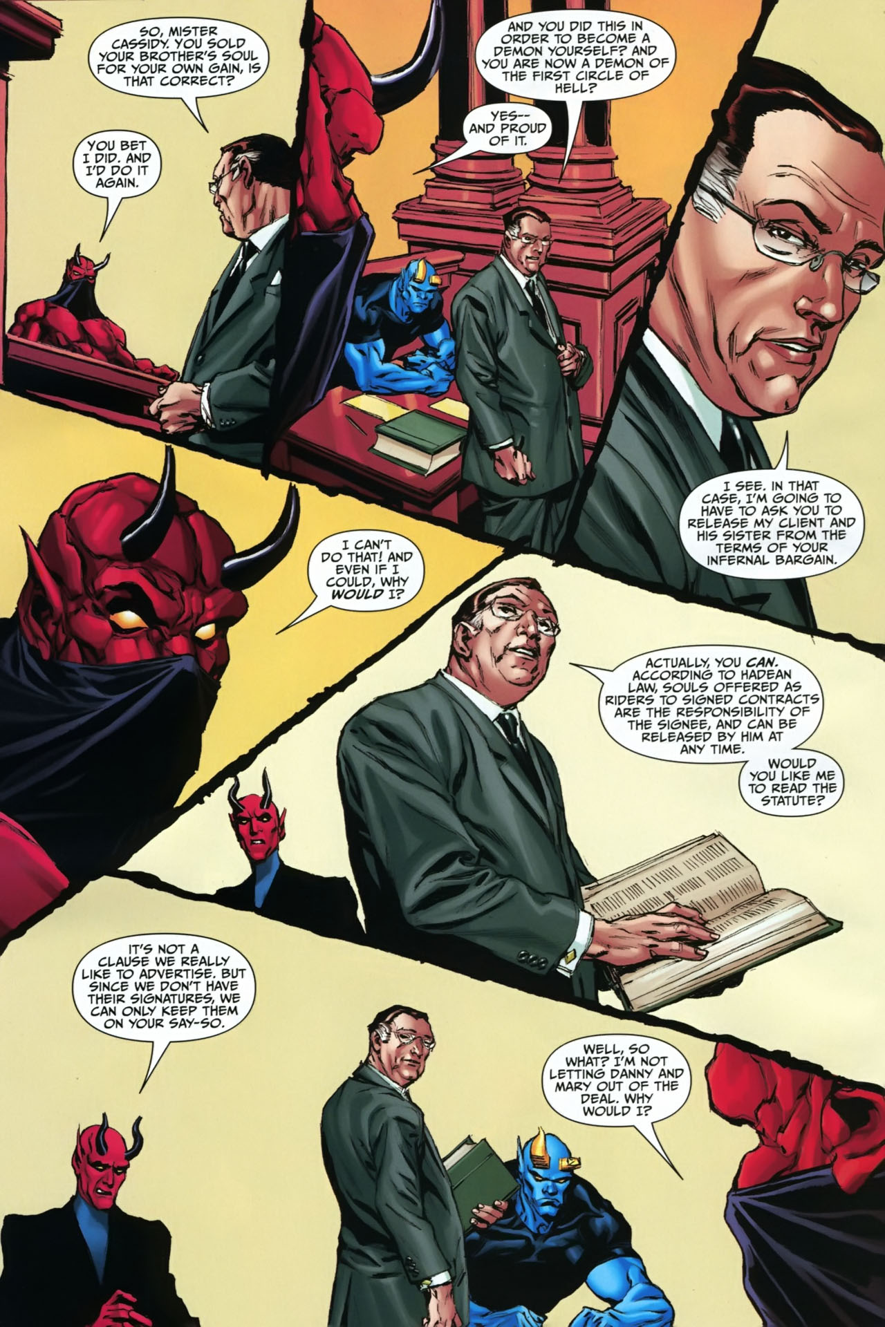 Read online Shadowpact comic -  Issue #23 - 17