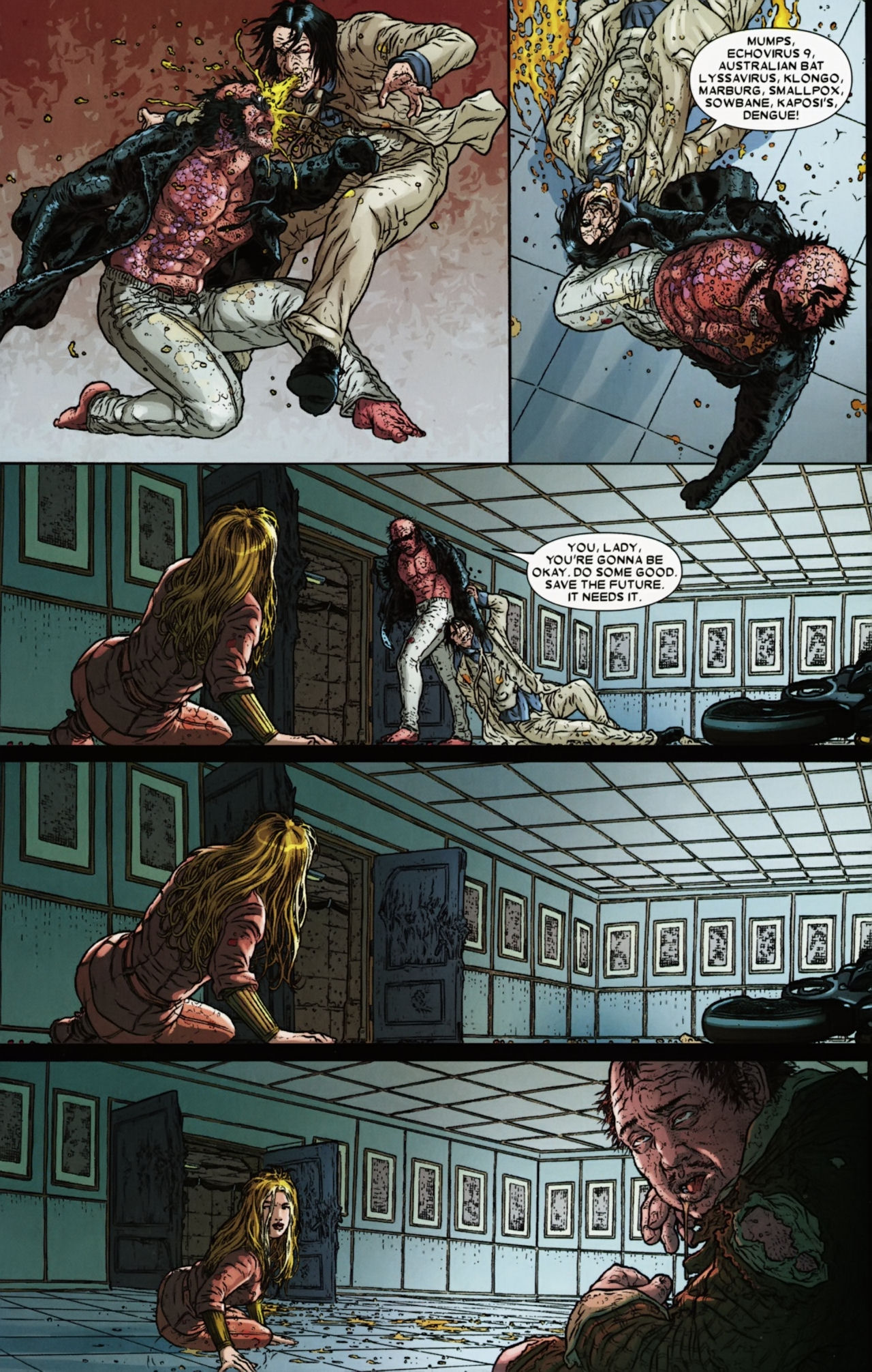 Read online Wolverine: The Best There Is comic -  Issue #6 - 21