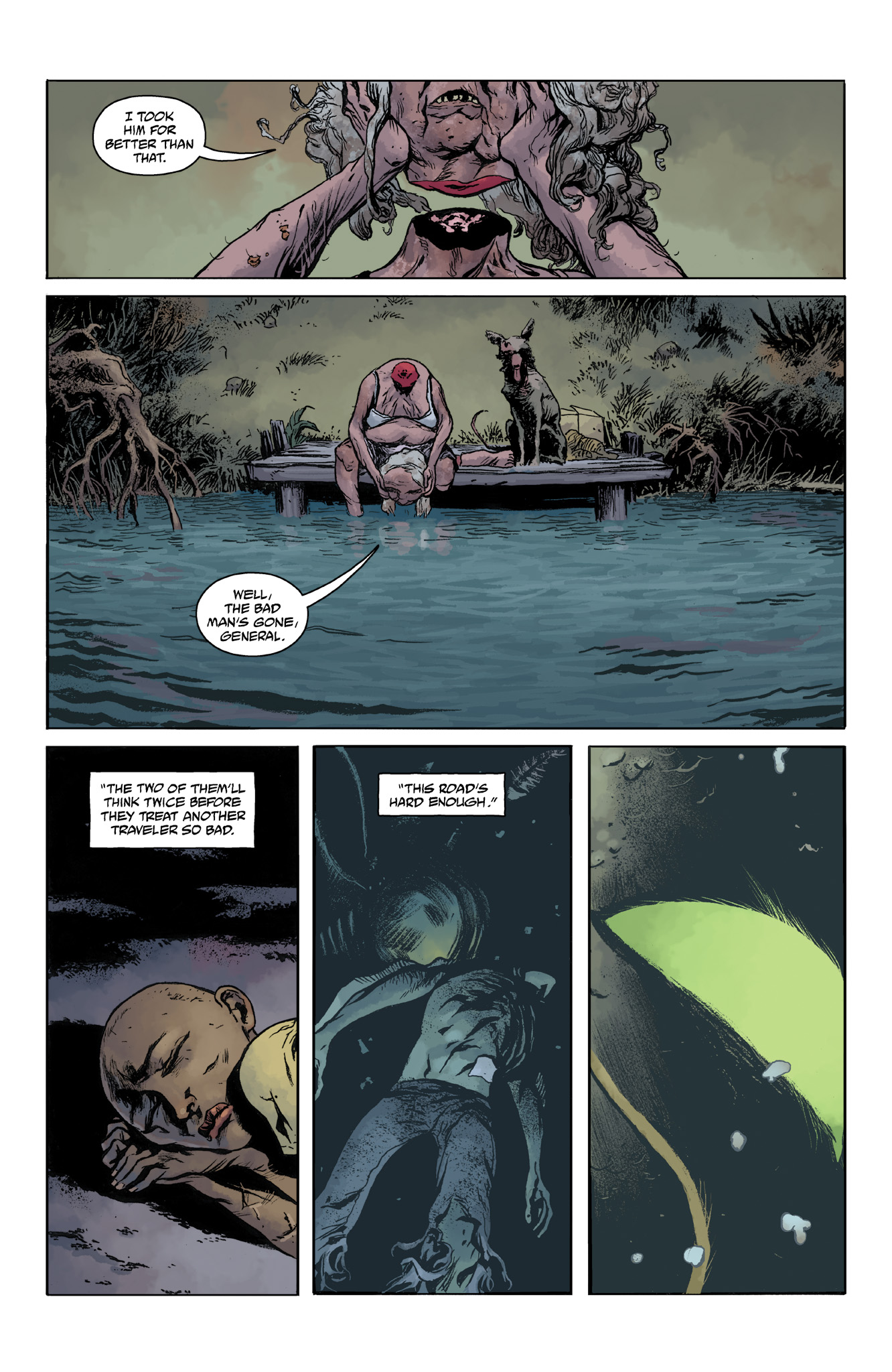 Read online Abe Sapien comic -  Issue #14 - 15