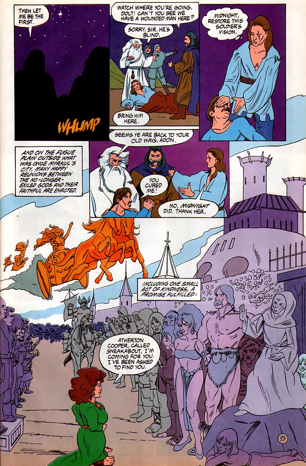 Read online Avatar comic -  Issue #3 - 94