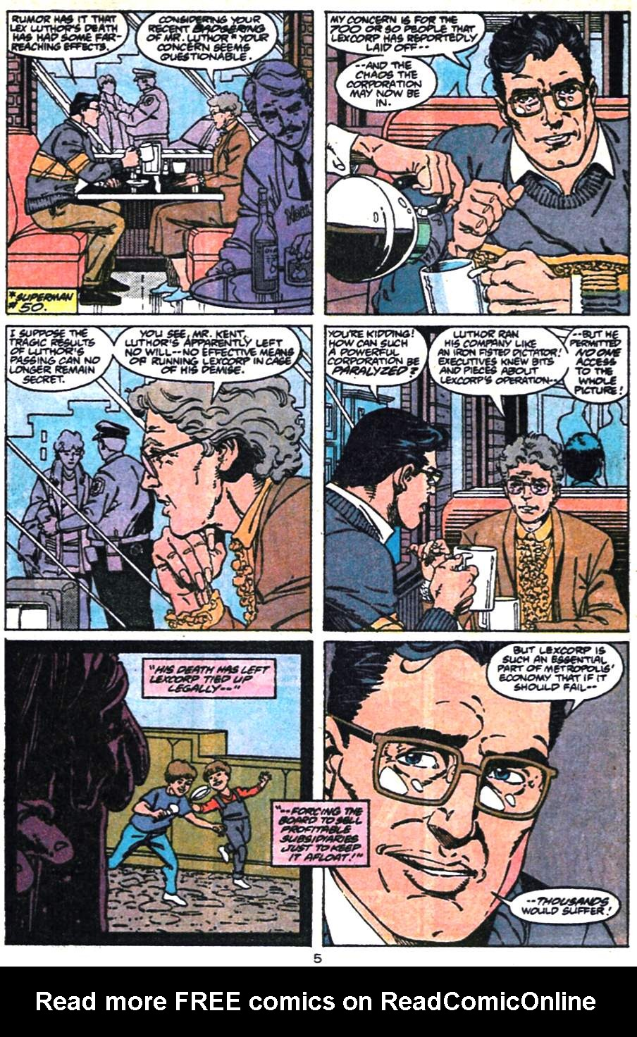 Read online Adventures of Superman (1987) comic -  Issue #475 - 6