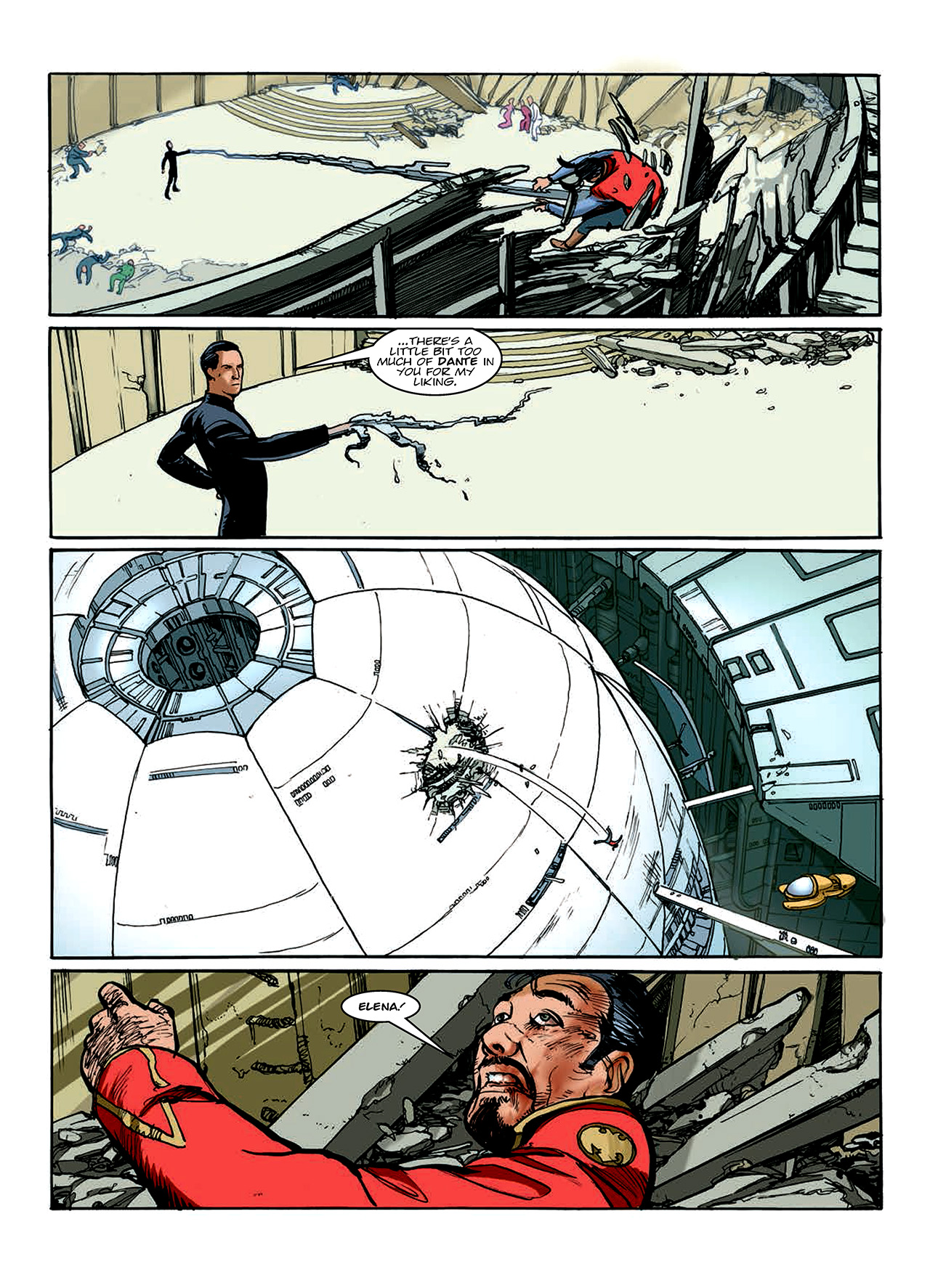 Read online Nikolai Dante comic -  Issue # TPB 10 - 98