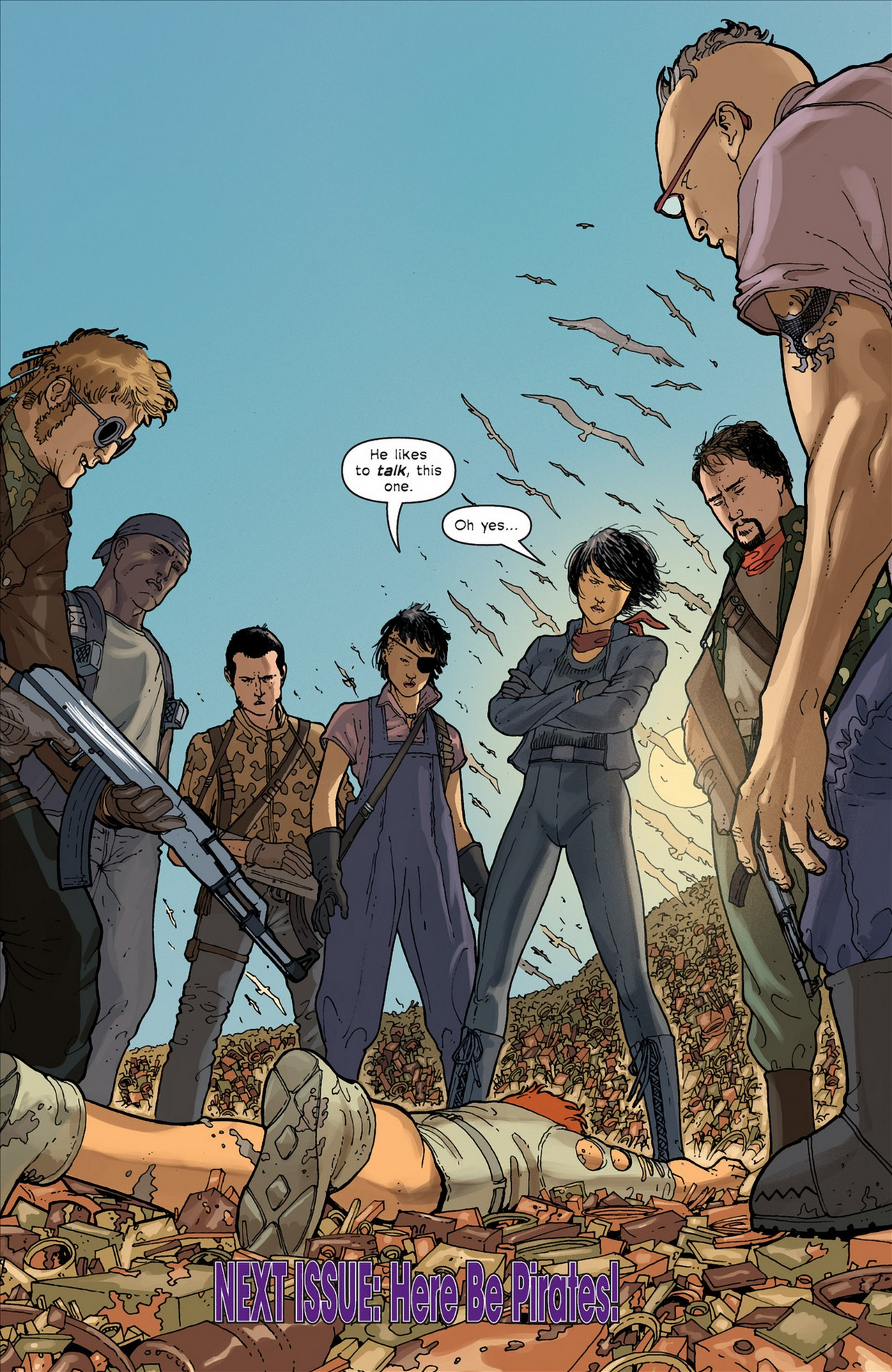 Read online Great Pacific comic -  Issue #4 - 25