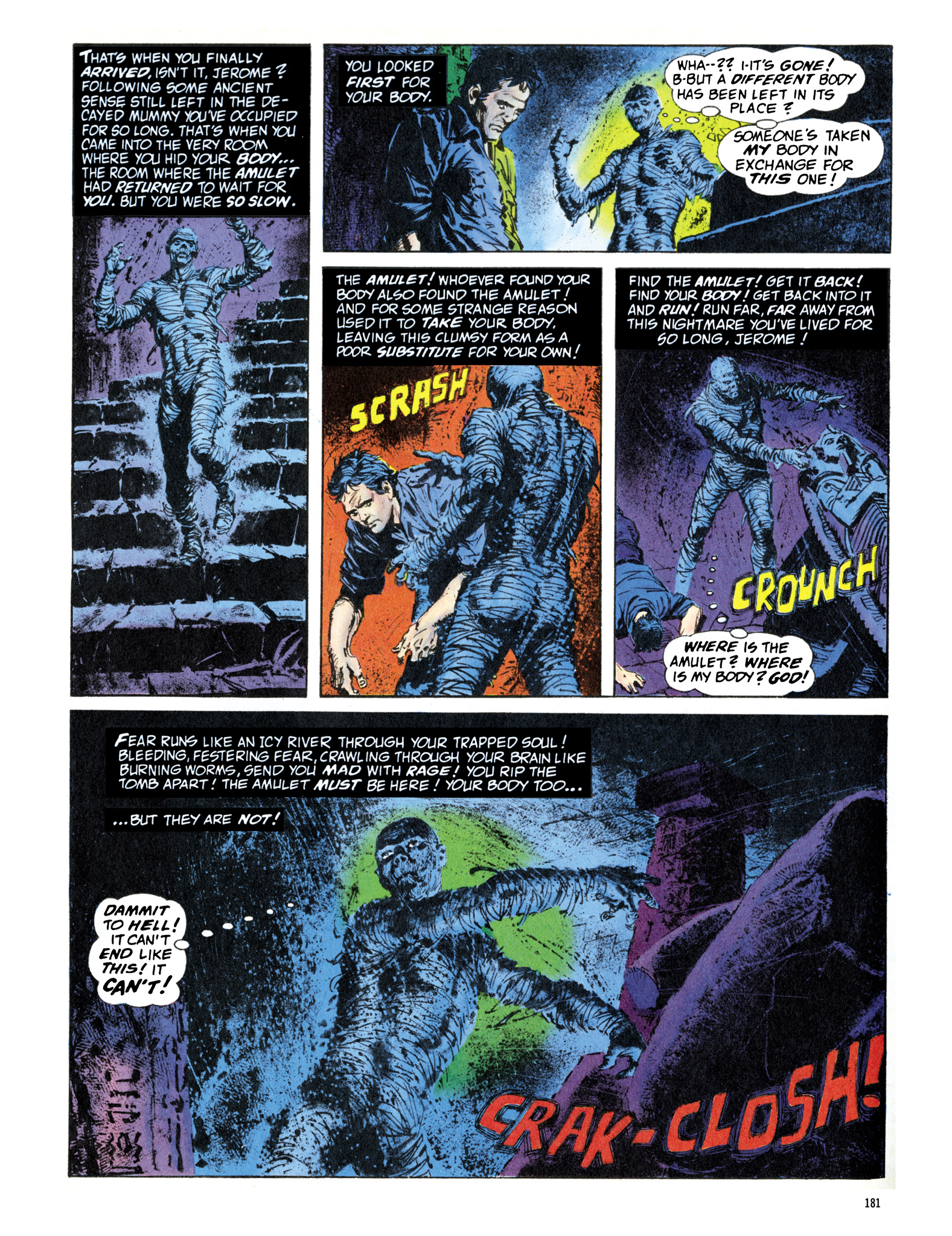 Read online Eerie Archives comic -  Issue # TPB 16 - 182