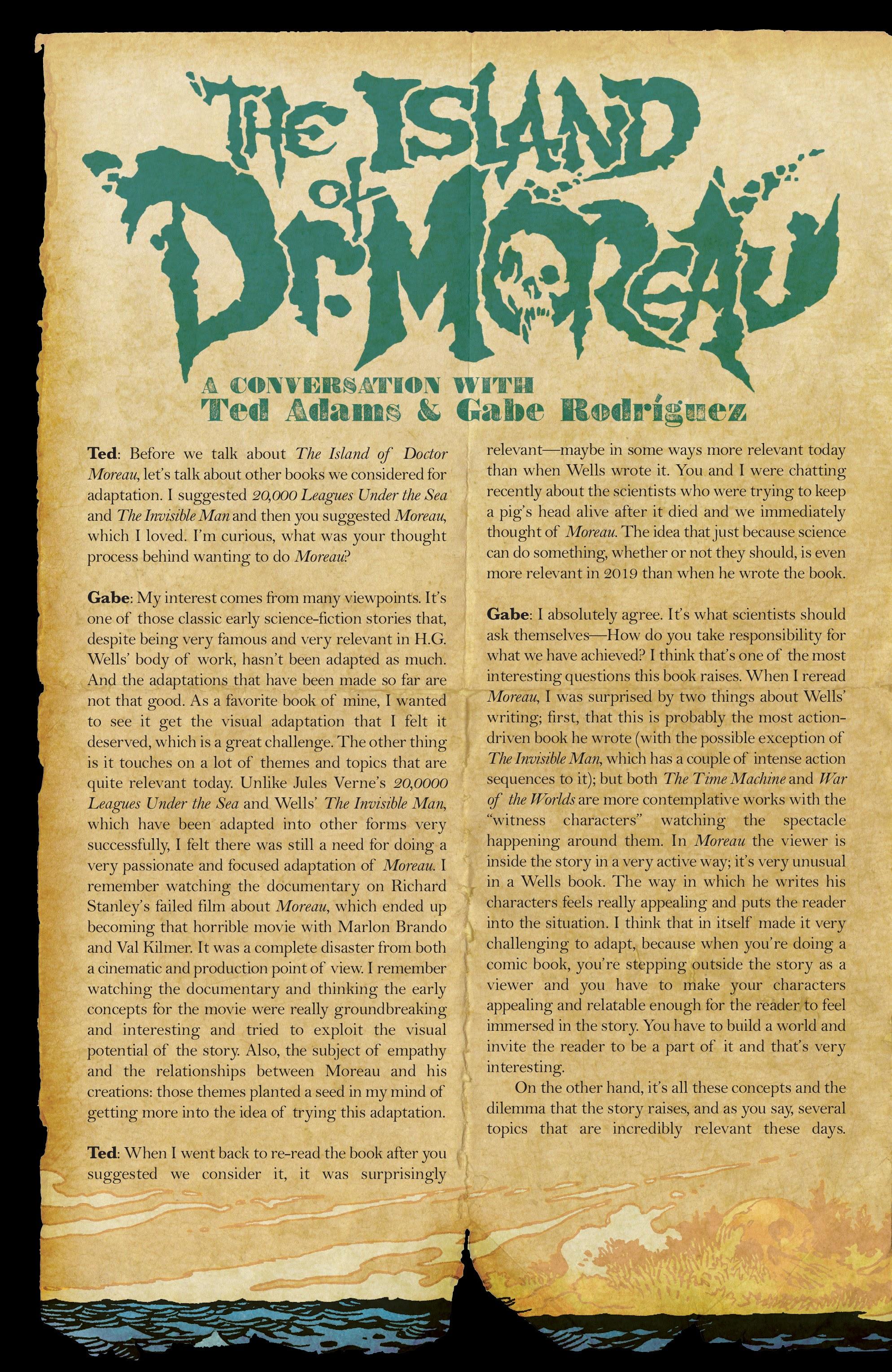 The Island of Dr. Moreau #1 #1 - English 18