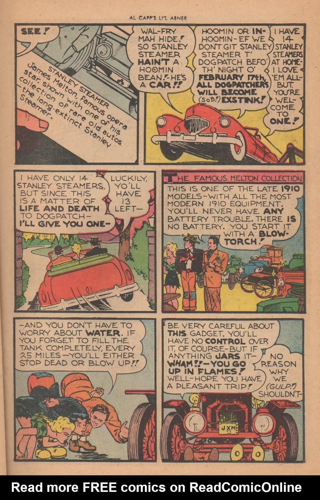 Li'l Abner Comics issue 77 - Page 21