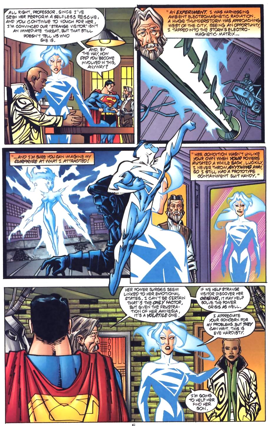 Read online Adventures of Superman (1987) comic -  Issue #572 - 6