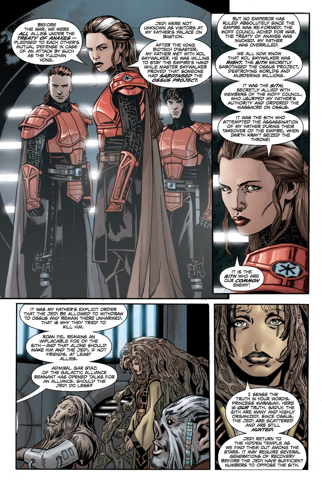 Read online Star Wars Legends: Legacy - Epic Collection comic -  Issue # TPB 2 (Part 2) - 63