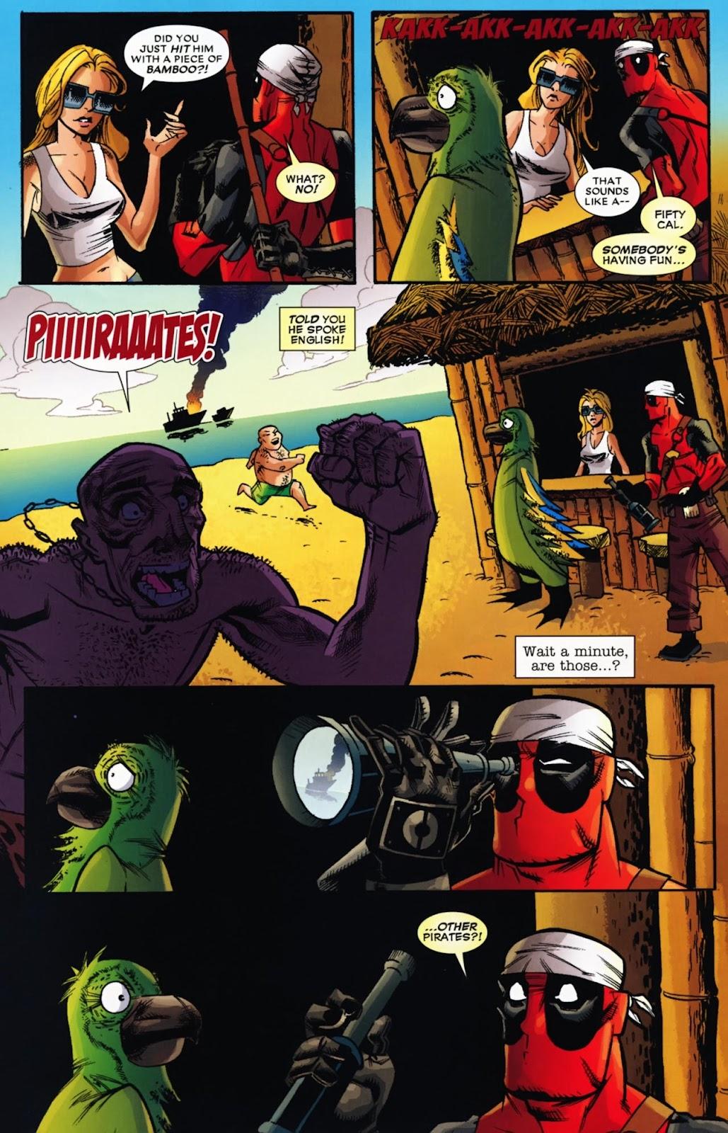 Read online Deadpool (2008) comic -  Issue #13 - 25