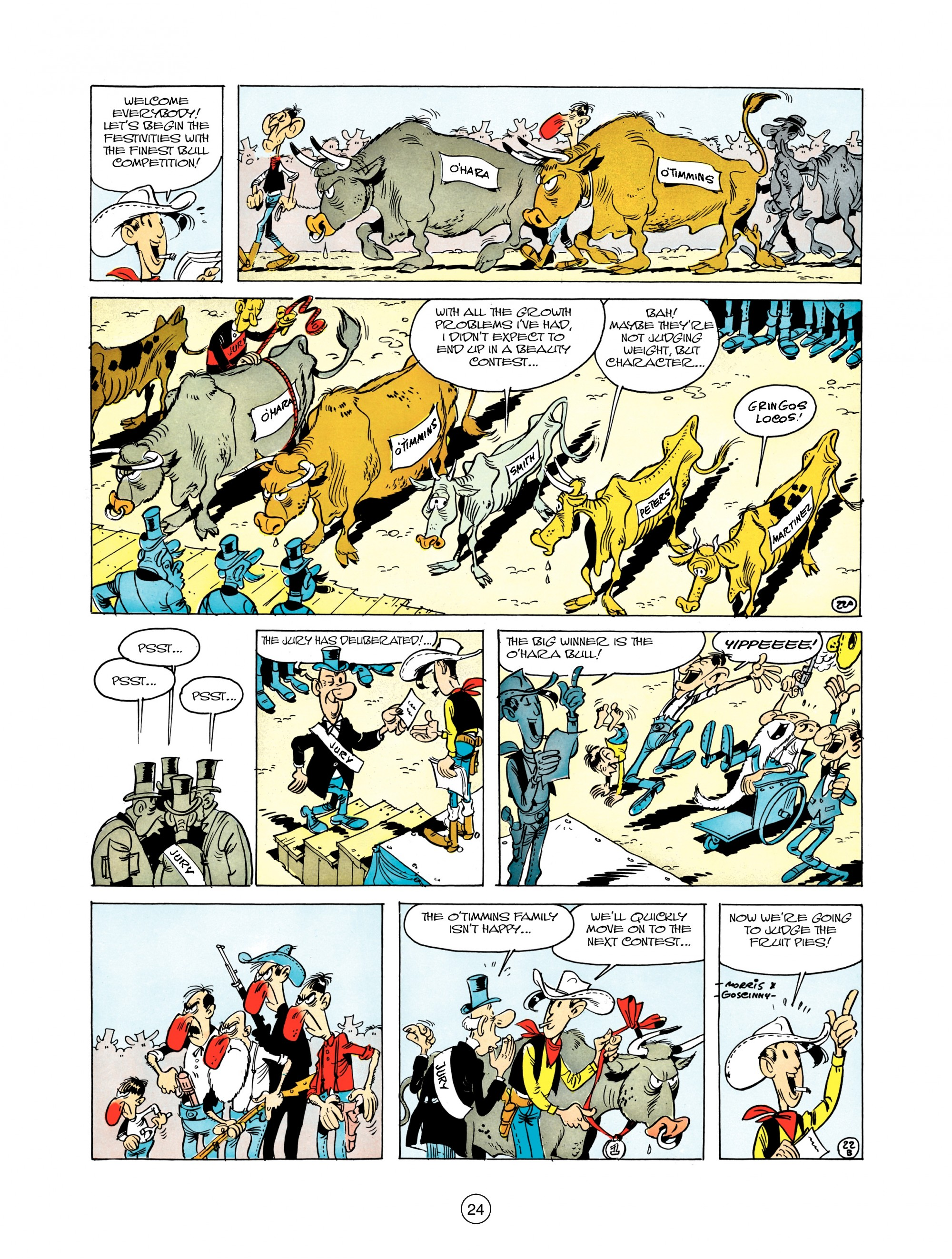 Read online A Lucky Luke Adventure comic -  Issue #12 - 24