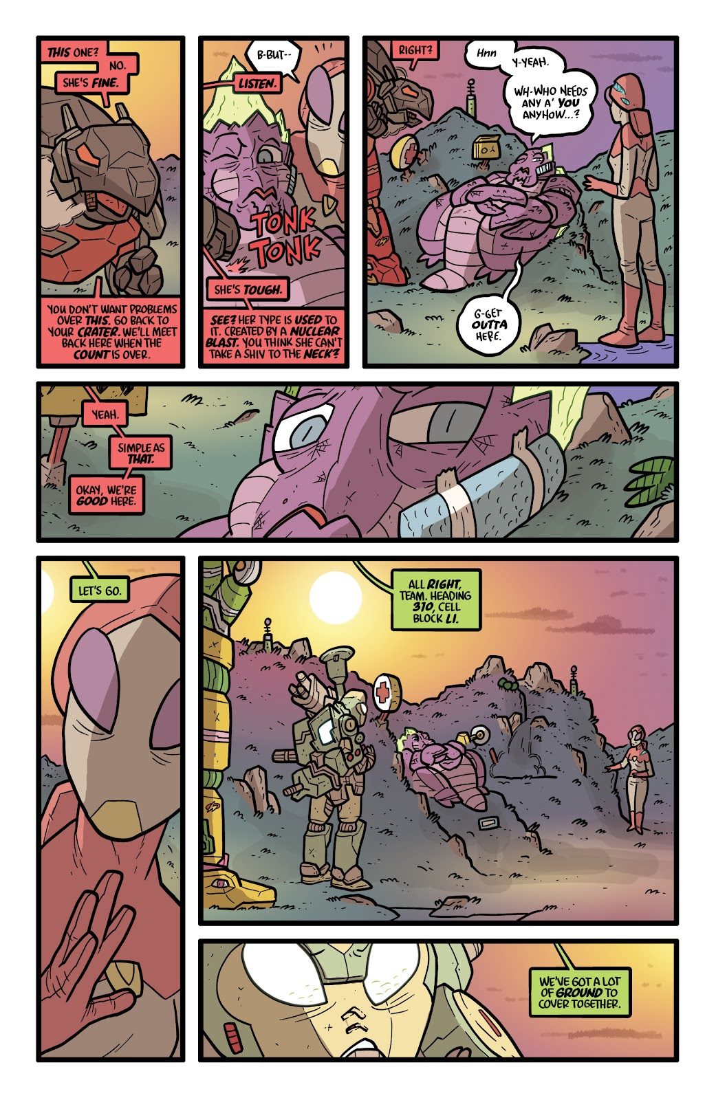 Read online Kaijumax: Season Four comic -  Issue #5 - 12