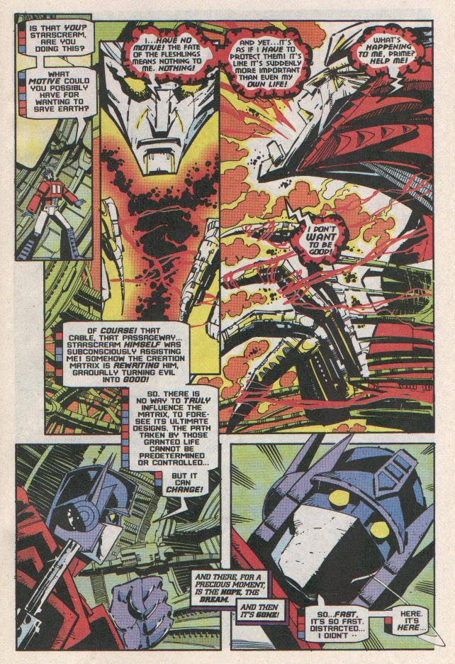 Read online Transformers: Generation 2 comic -  Issue #11 - 22