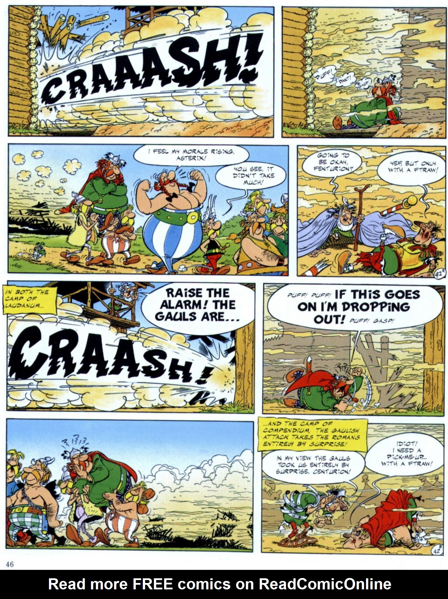 Read online Asterix comic -  Issue #29 - 44