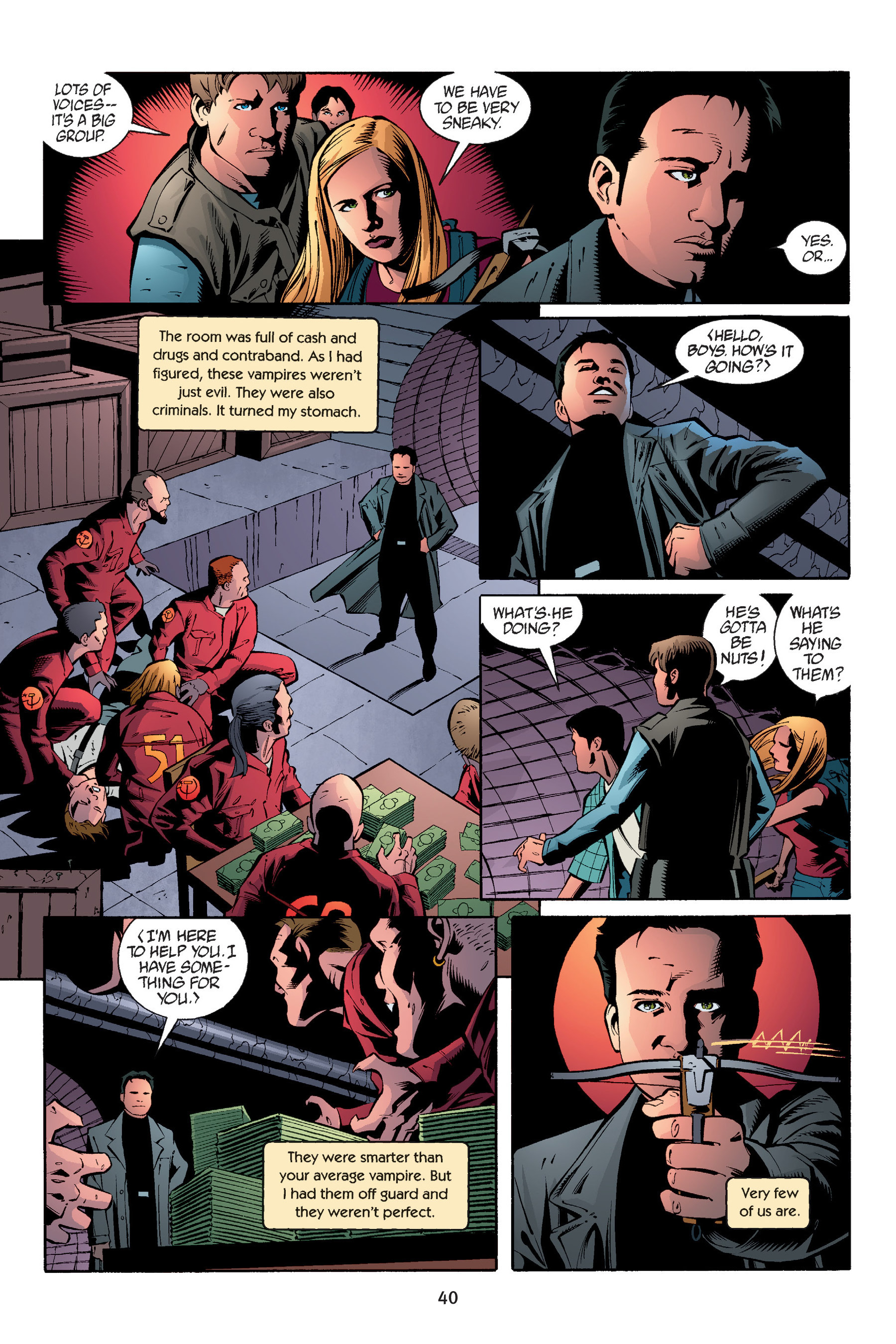 Read online Buffy the Vampire Slayer: Omnibus comic -  Issue # TPB 6 - 41